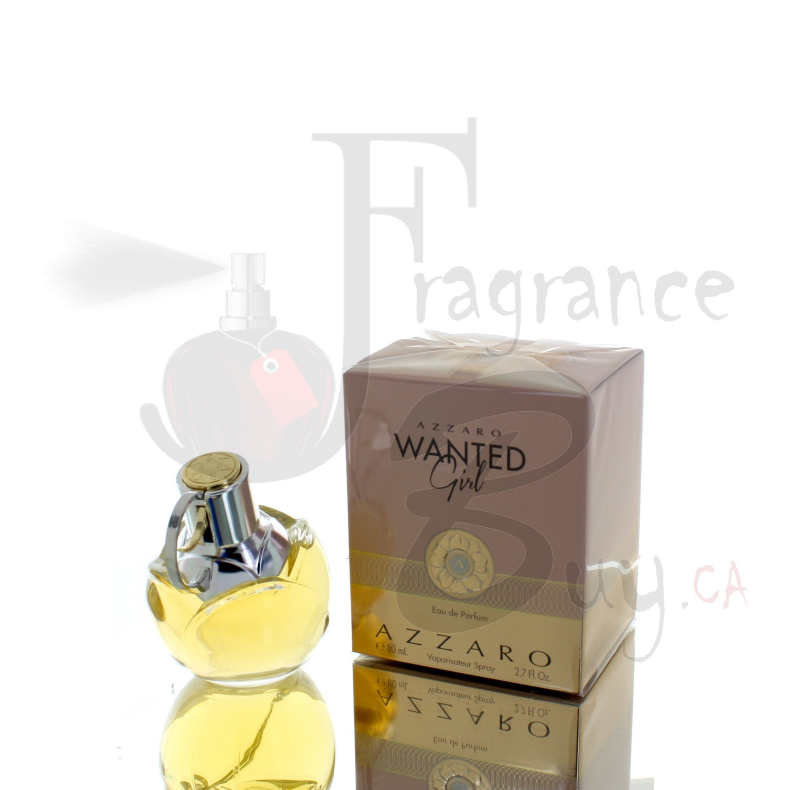 Azzaro Wanted Girl Eau De Parfum For Woman