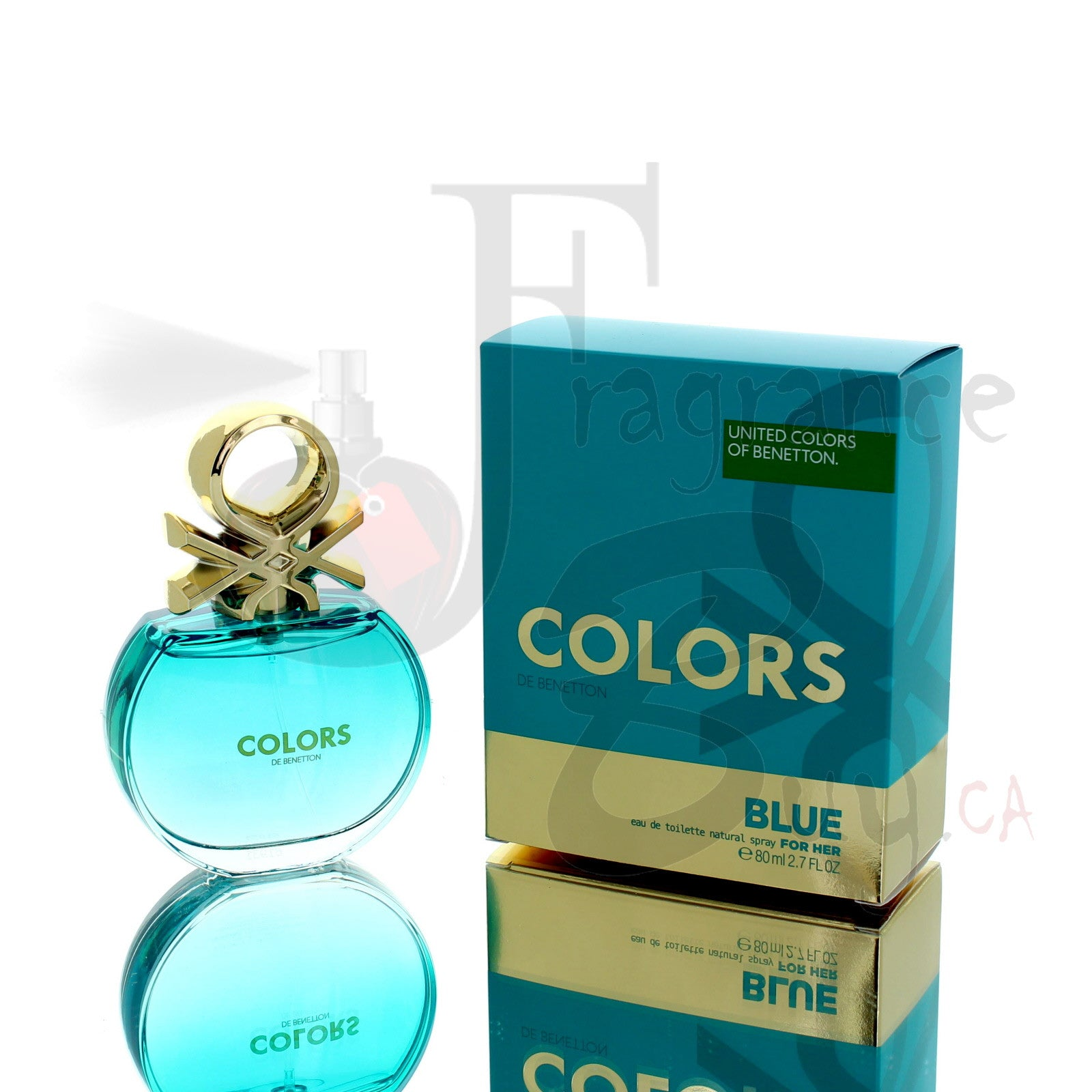 Benetton Colors Blue For Woman
