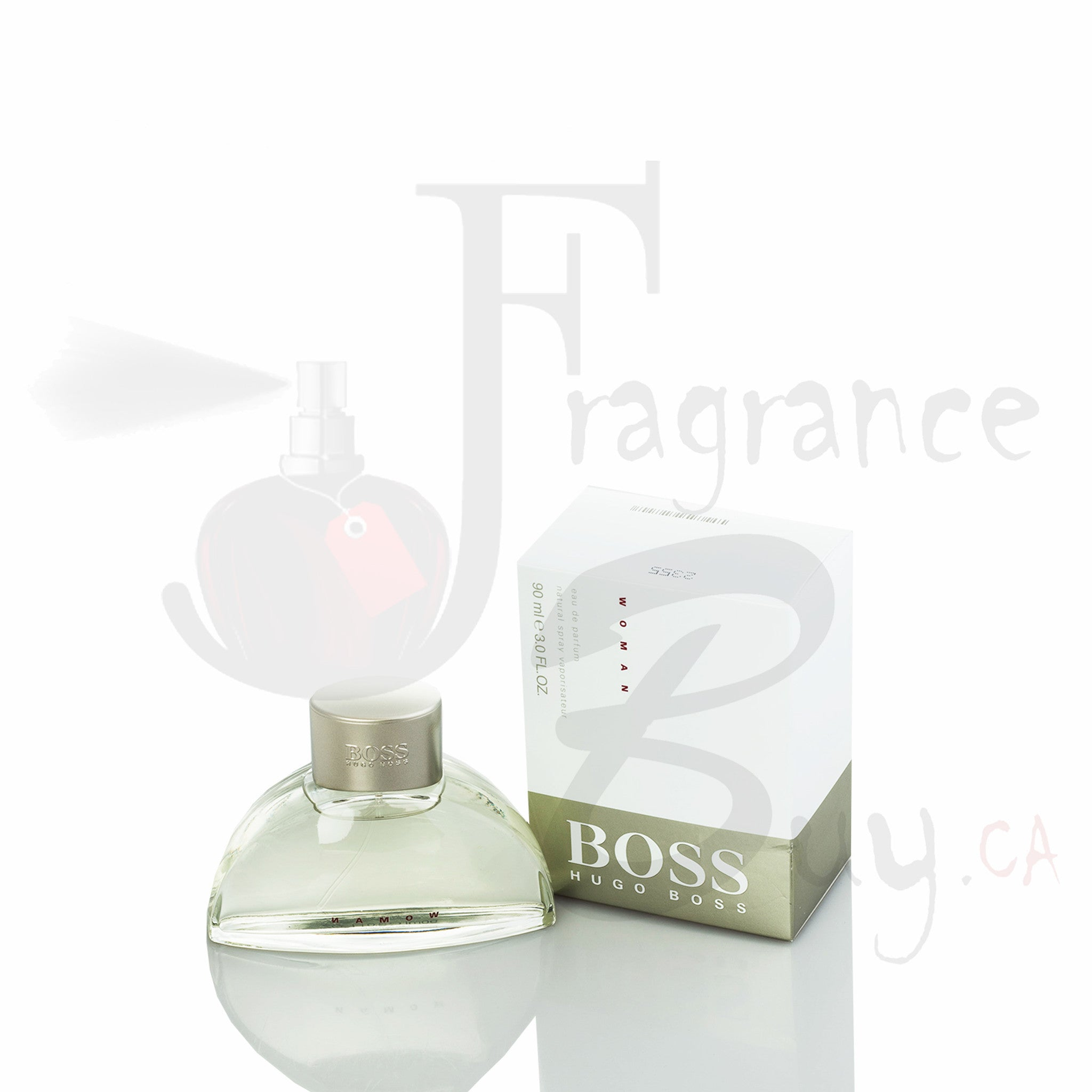 Hugo Boss Classic White (Half Moon) For Woman