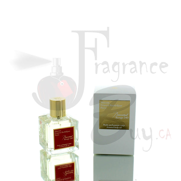 Francis Kurkdjian Baccarat Rouge 540 Scented Body Oil For Woman