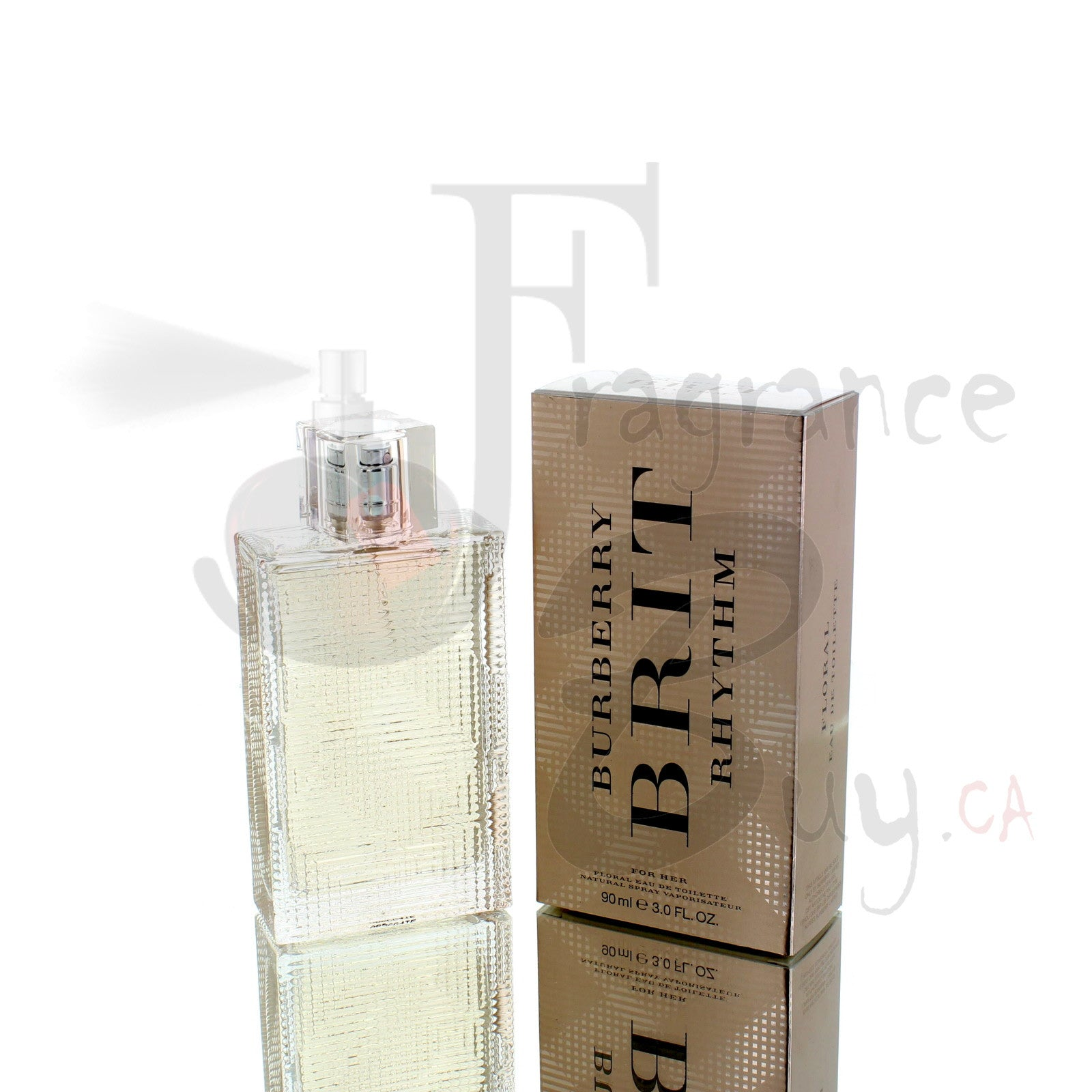 Burberry Brit Rhythm Floral For Woman