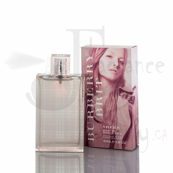 Burberry Brit Sheer For Woman