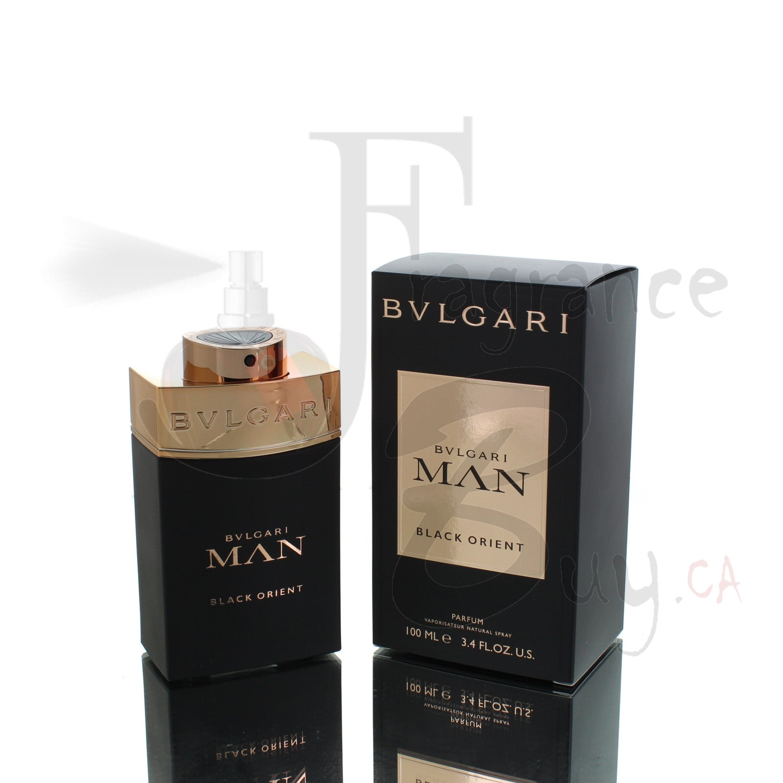 Bvlgari Man In Black Black Orient For Man