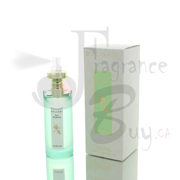 Bvlgari Eau Parfumee Au the Vert (Green Tea) For Woman