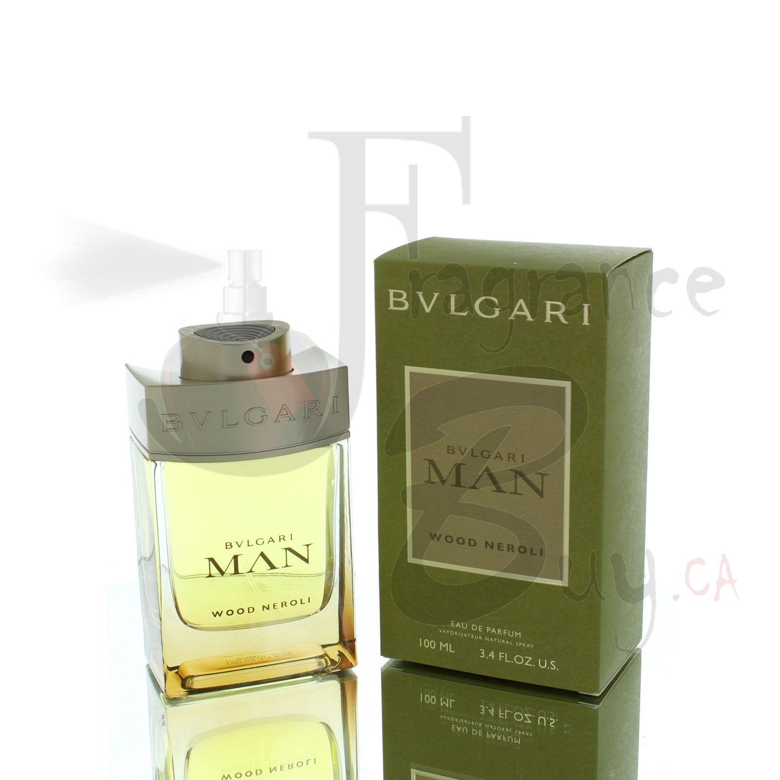 Bvlgari Man Wood Neroli For Man