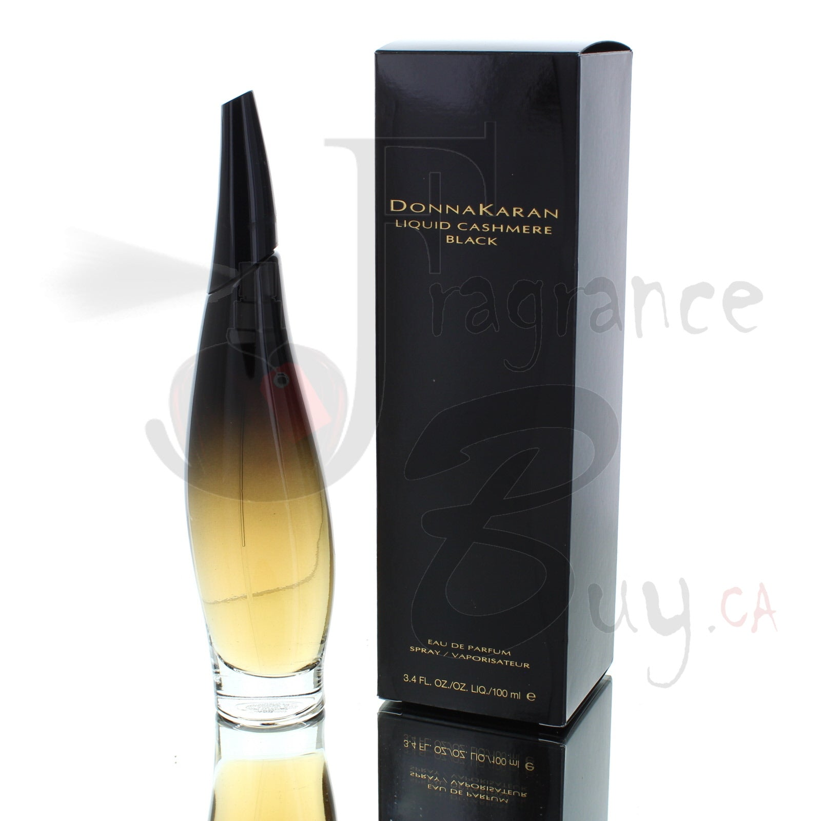 DKNY Donna Karan Liquid Cashmere Black For Woman