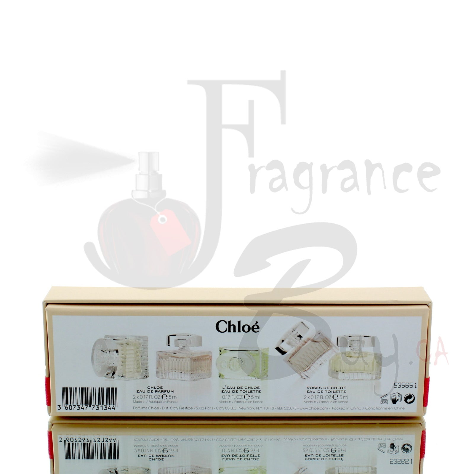 Chloe Miniature Collection Gift Pack For Woman