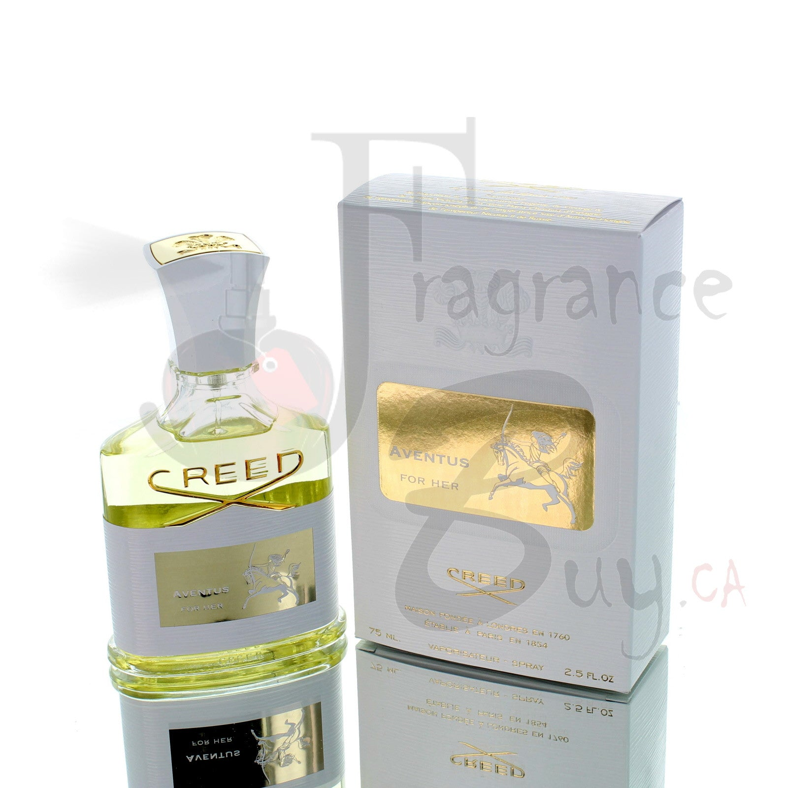 Creed Aventus For Woman 75ml Boxed
