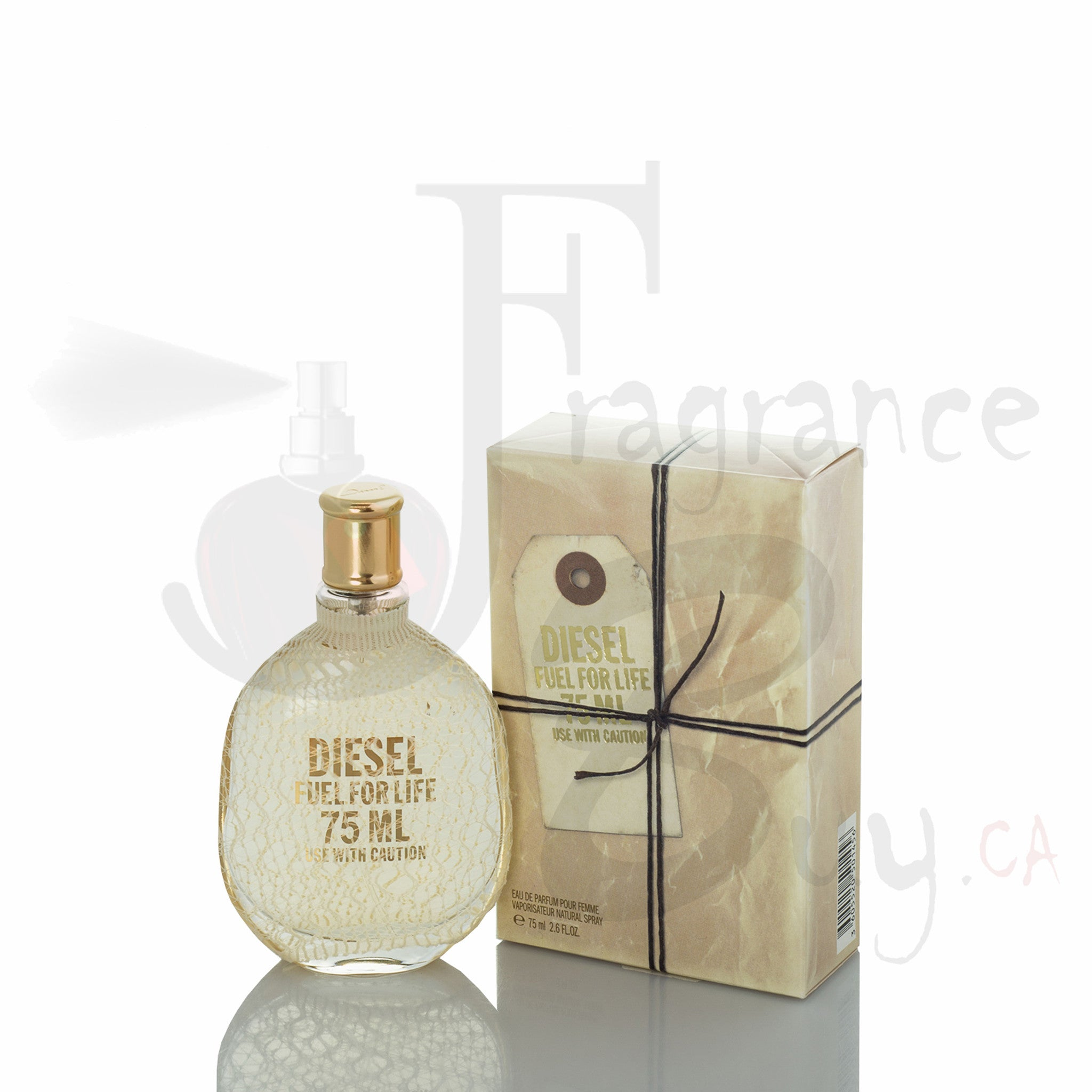 Diesel Fuel For Life Woman in Pouch Fragrance