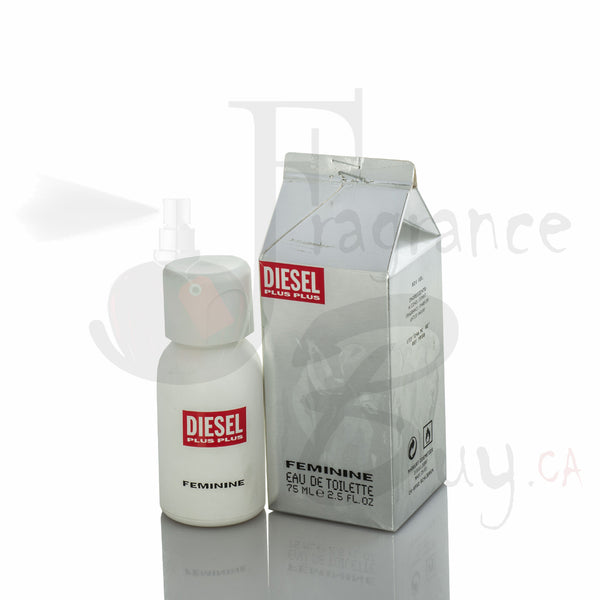 Diesel Plus Plus White Woman Milk Carton Fragrance