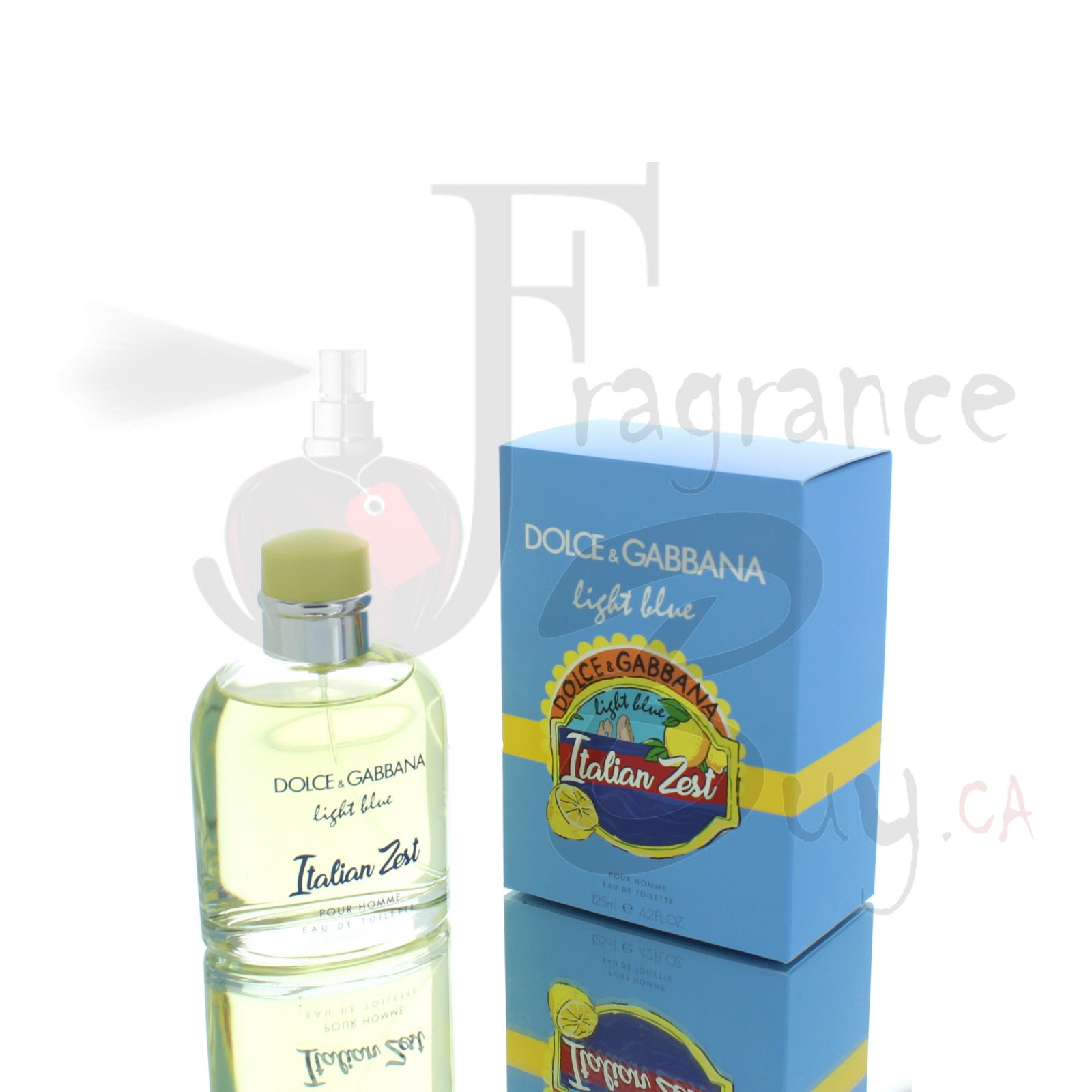 Dolce & Gabbana Light Blue Italian Zest For Man