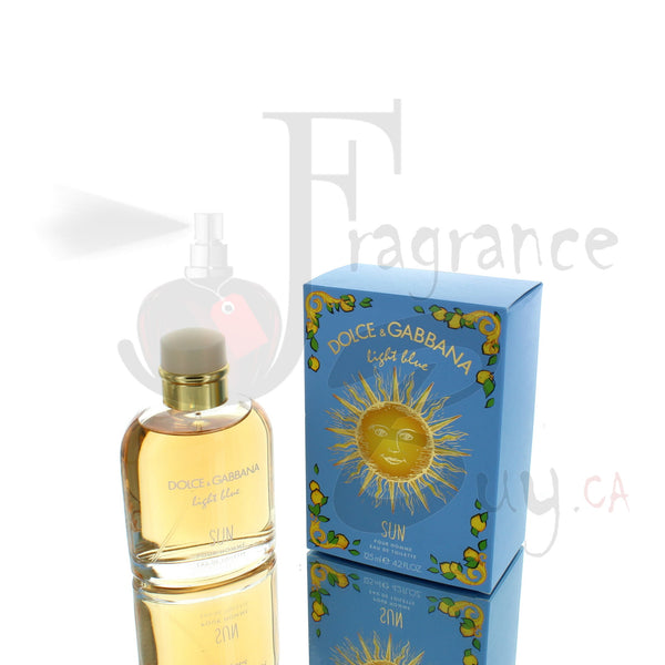 Dolce & Gabbana Light Blue Sun Edition For Man