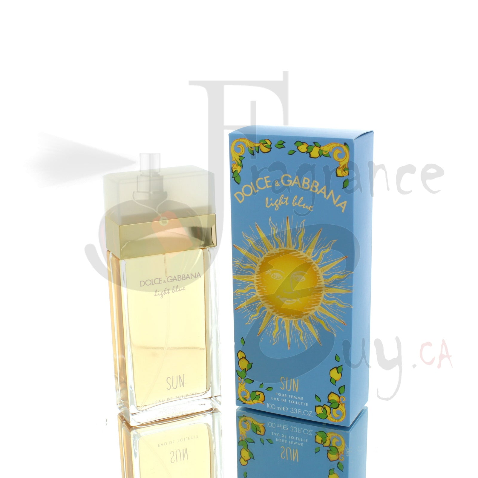 Dolce & Gabbana Light Blue Sun For Woman