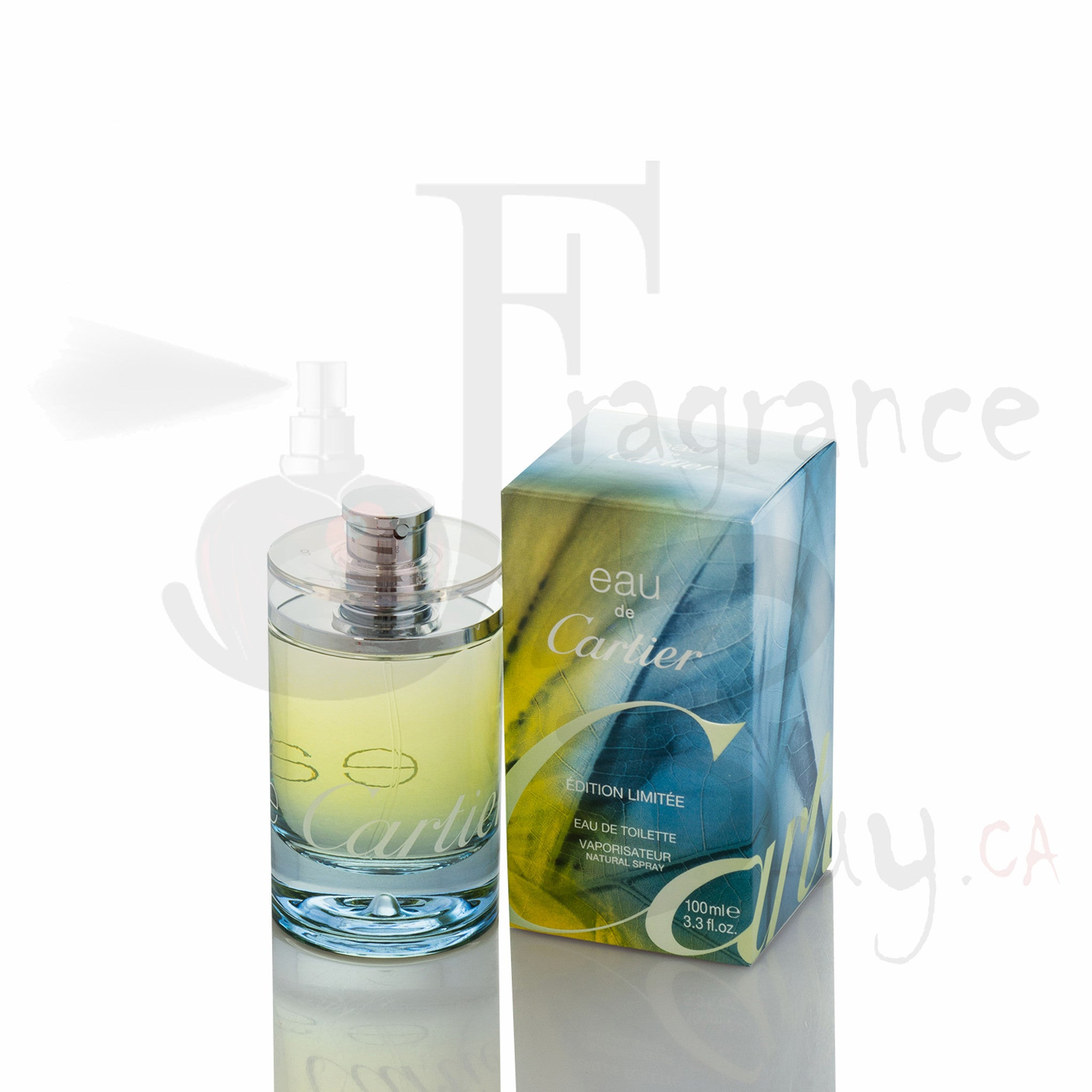 Eau De Cartier Vintage Limited Edition (2007 Summer) For Man