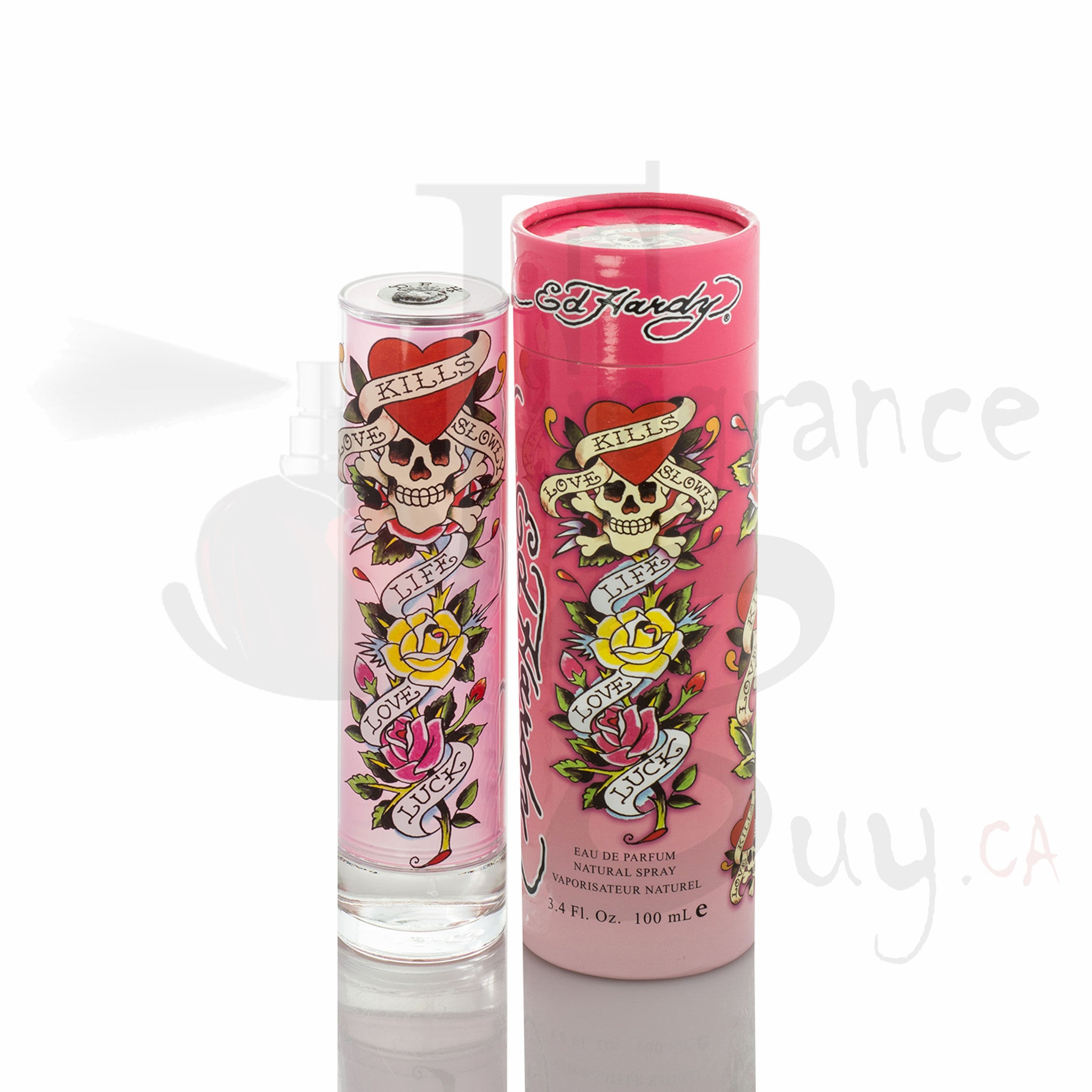 Ed Hardy Classic Pink Tall For Woman