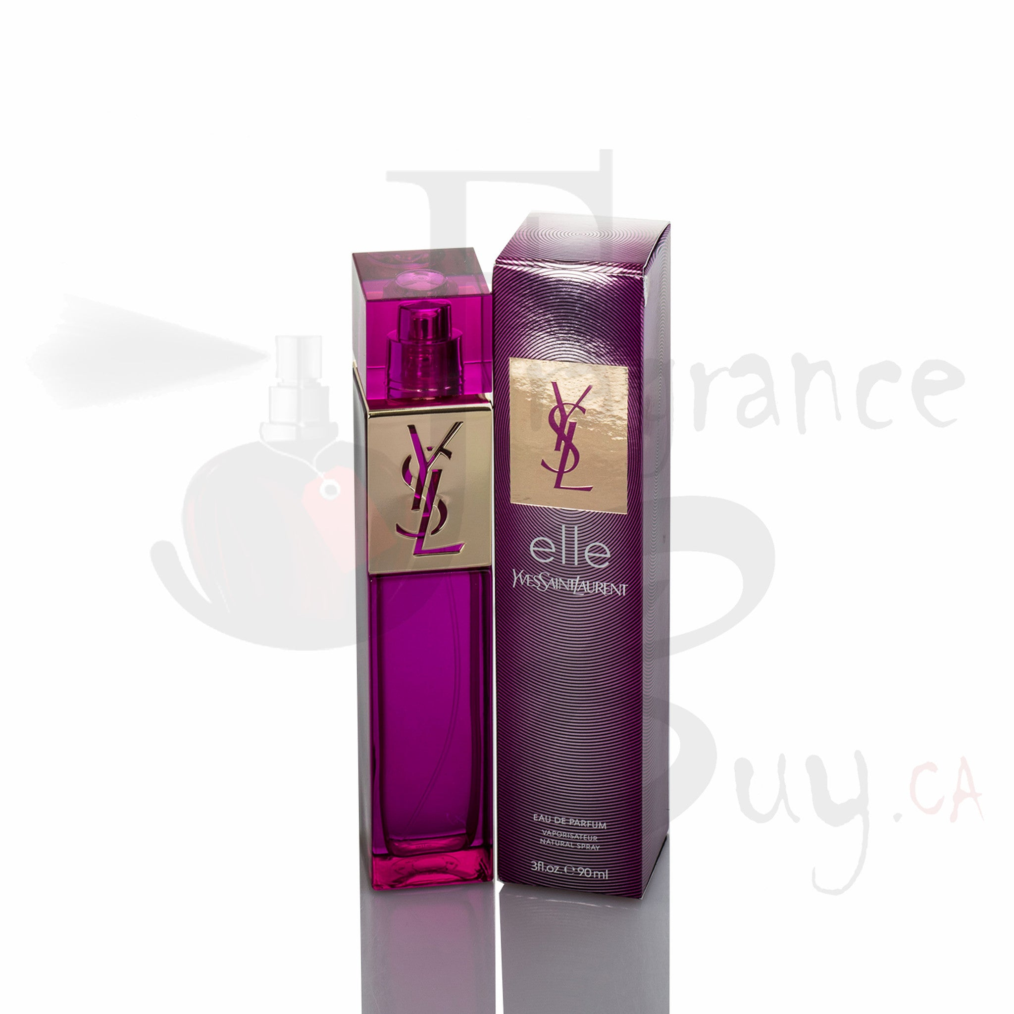 YvesSaintLaurent YSL Elle For Woman