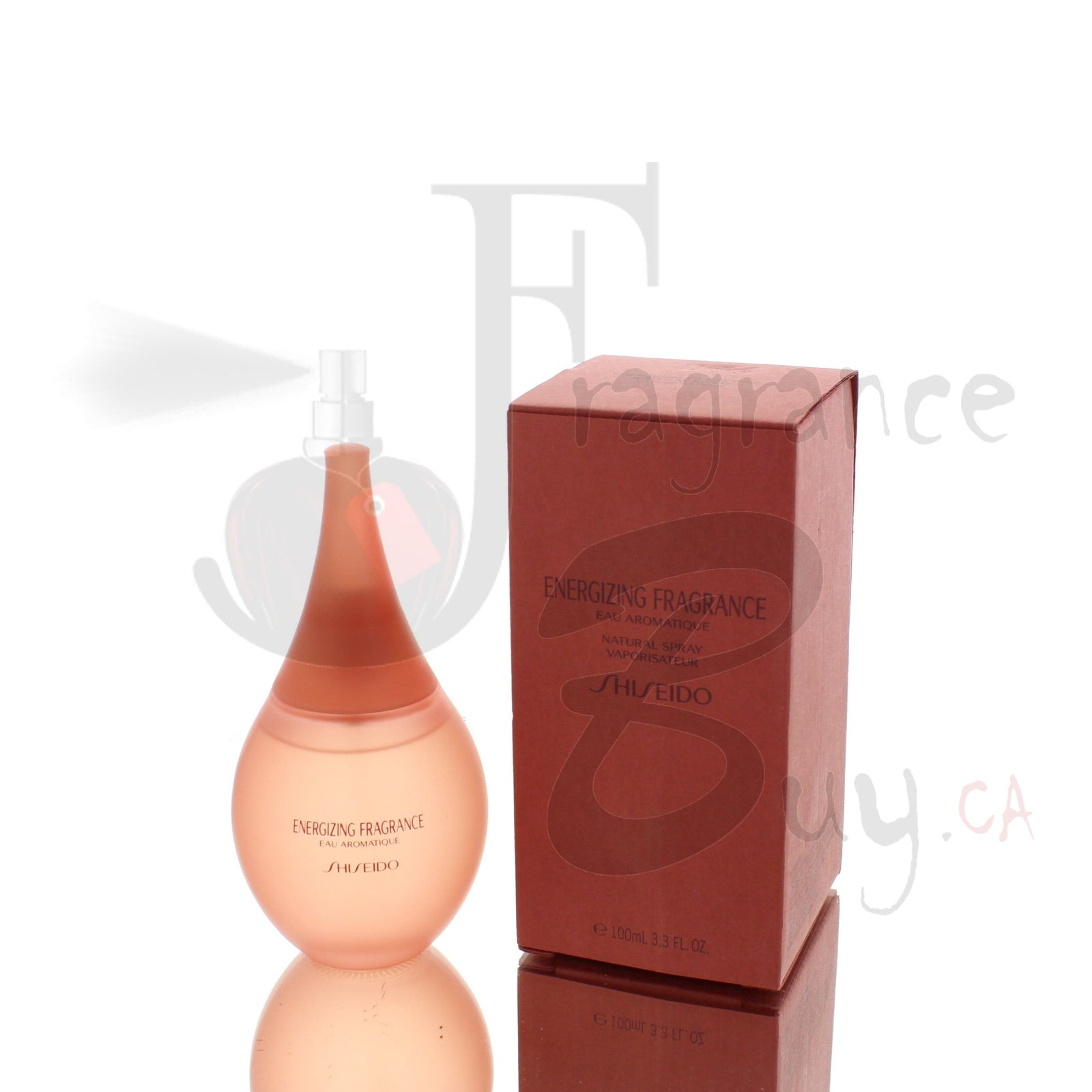 Energizing Fragrance by Shiseido For Woman