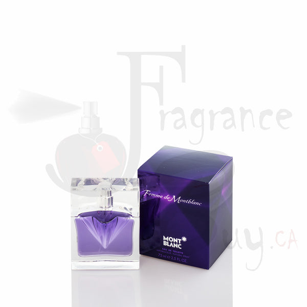 Mont Blanc Femme D'un Presence (Purple) For Woman
