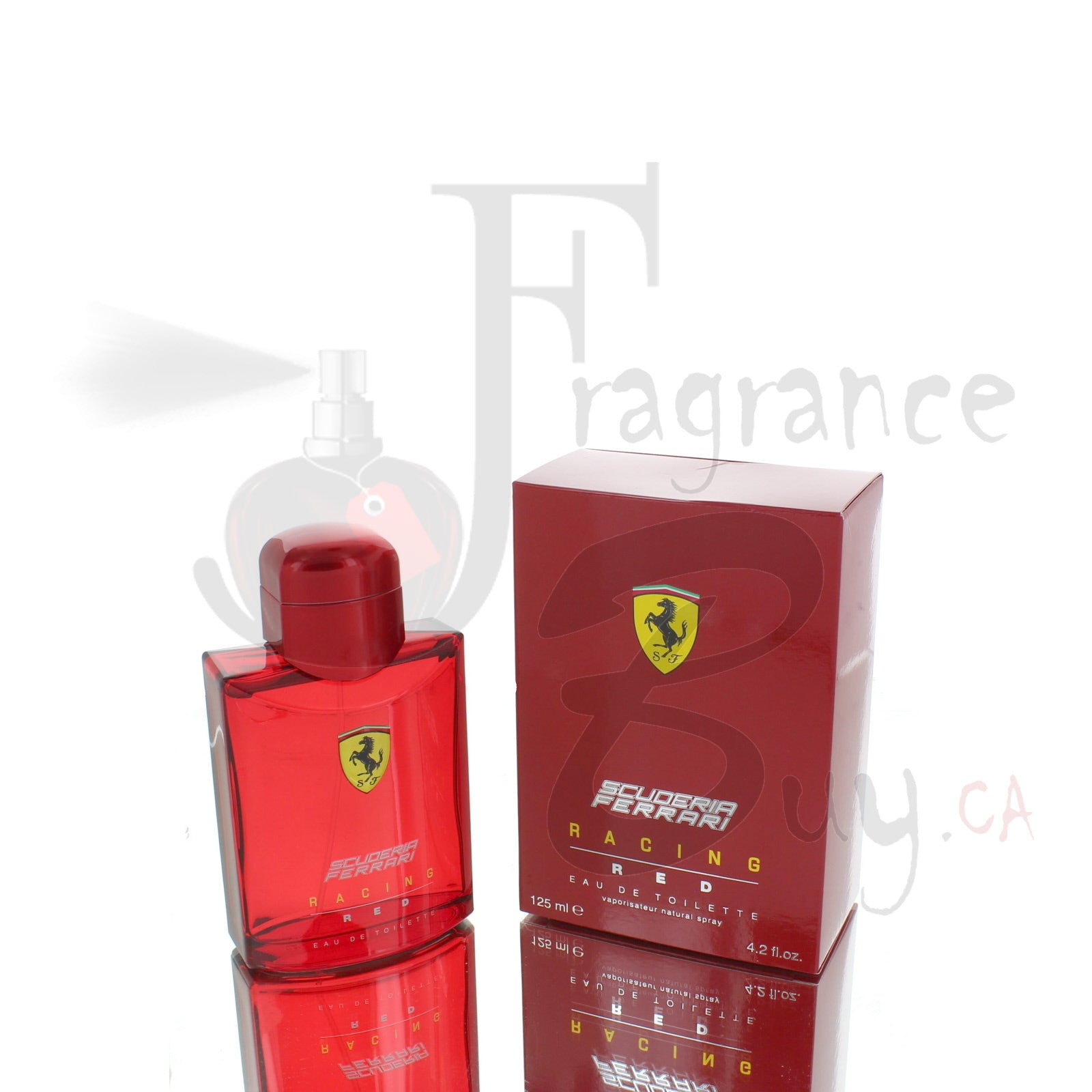 Ferrari Scuderia Racing Red For Man