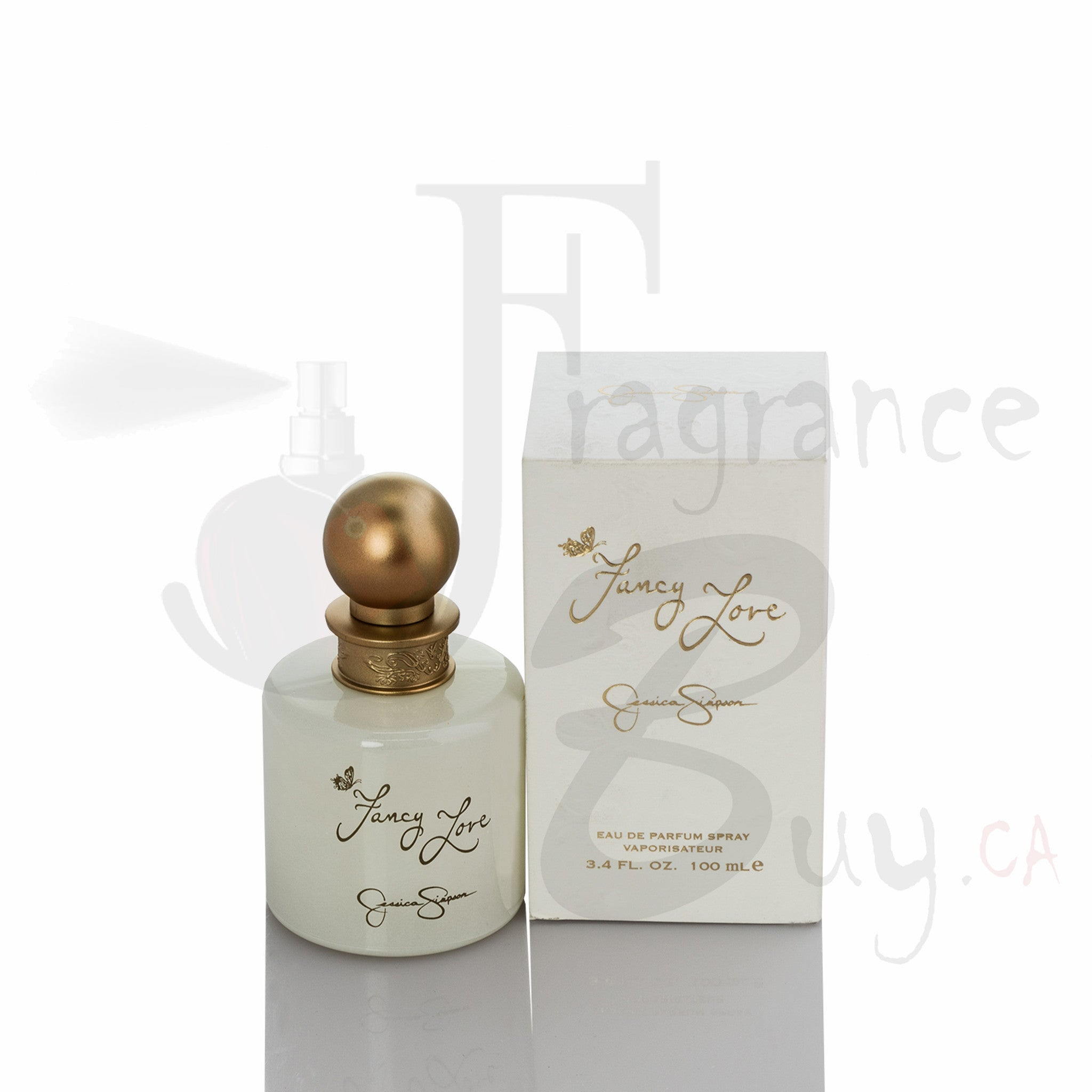 Jessica Simpson Fancy Love (White) For Woman  Canada