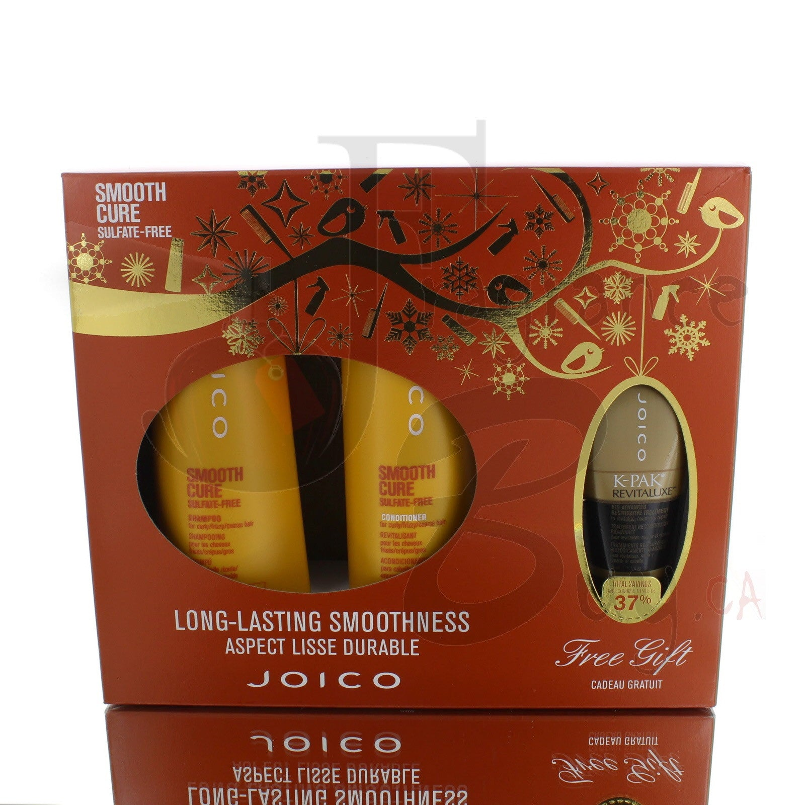 Joico Smooth Cure Sulfate-Free Ultimate Shampoo/Conditioner Kit