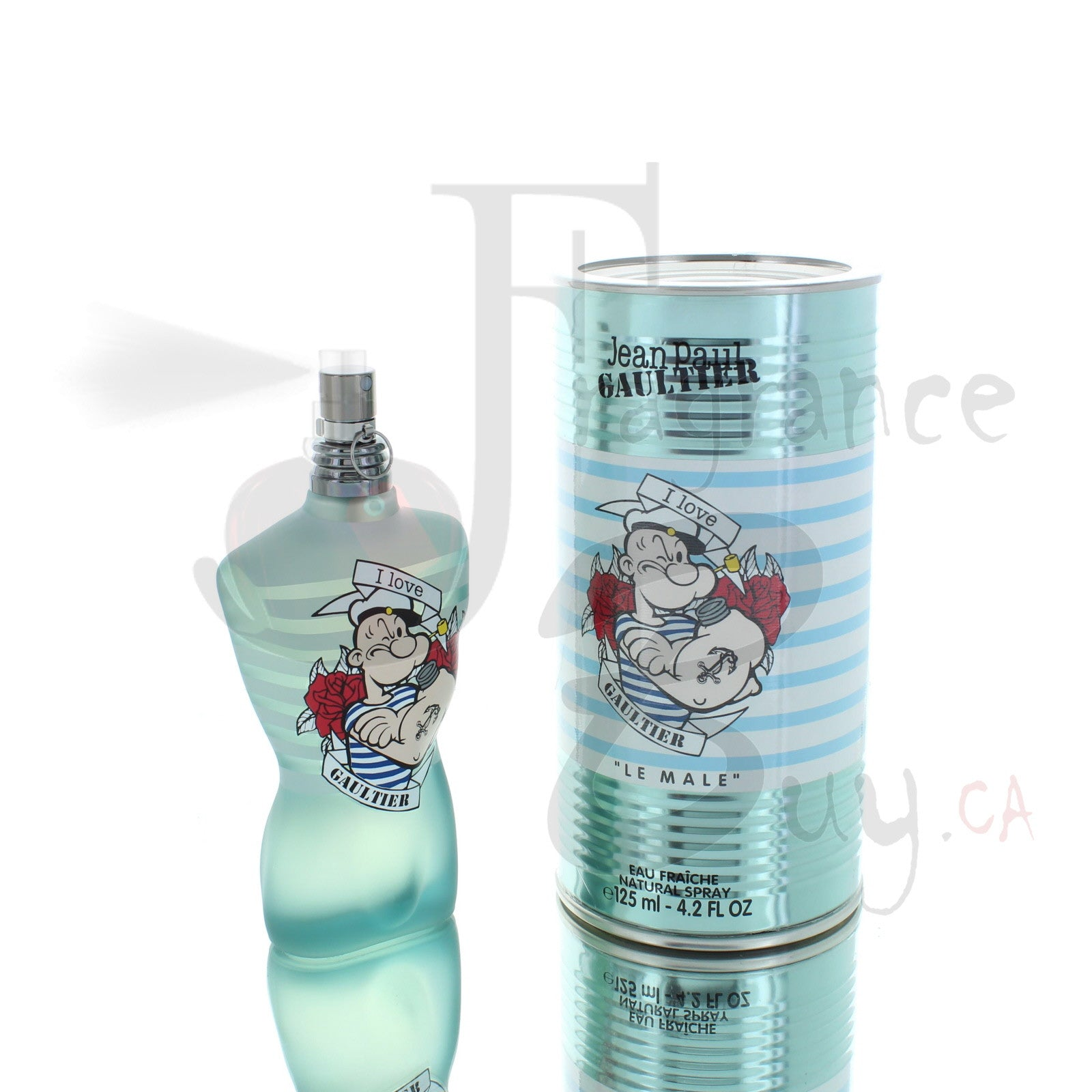 Jean Paul Gaultier Le Male Popeye Eau Fraiche For Man