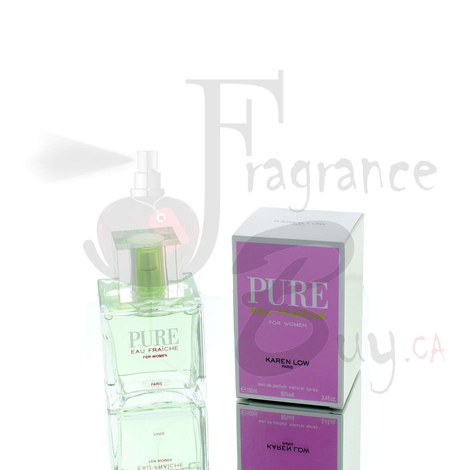Karen Low Pure Eau Fraiche For Woman