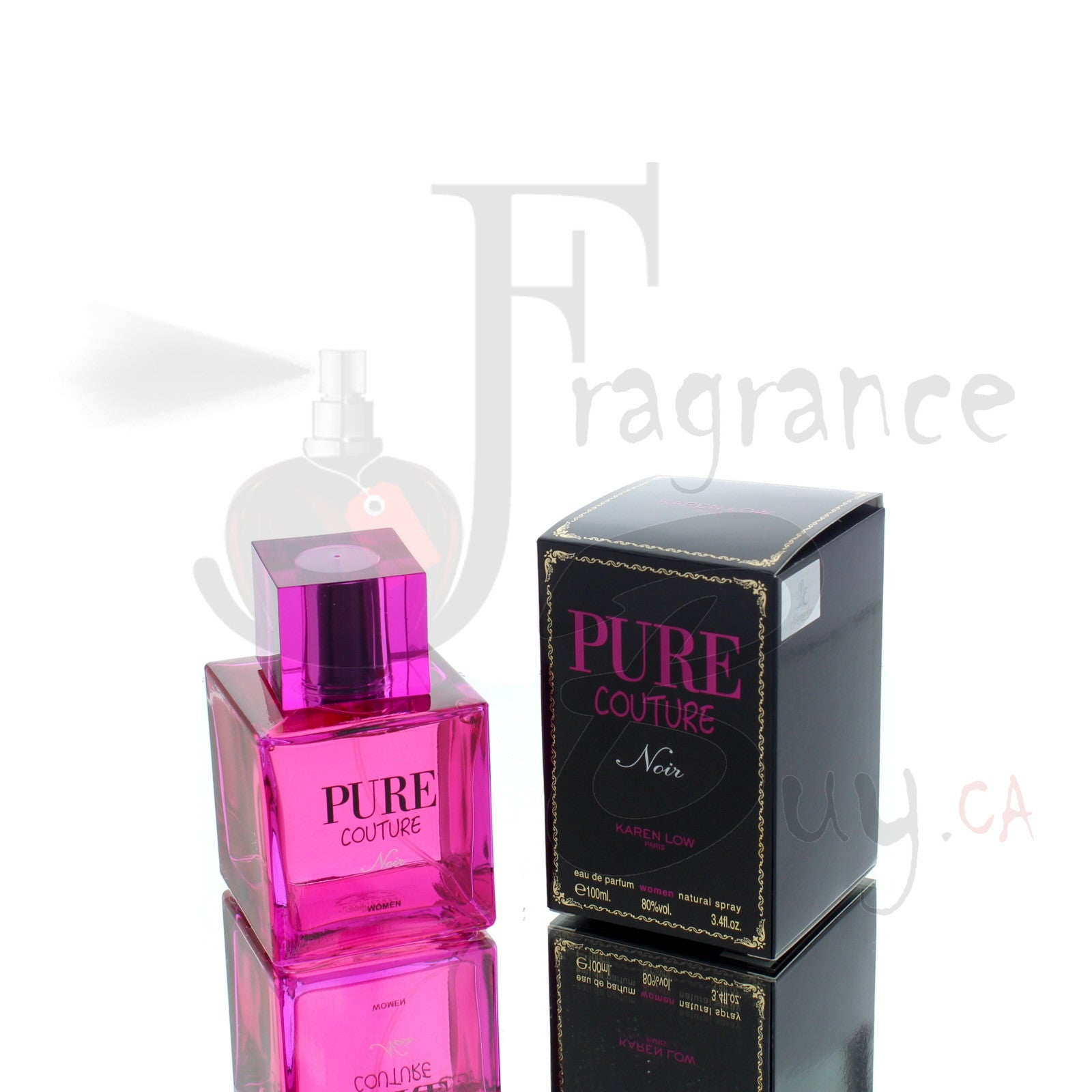 Karen Low Pure Couture Noir For Woman