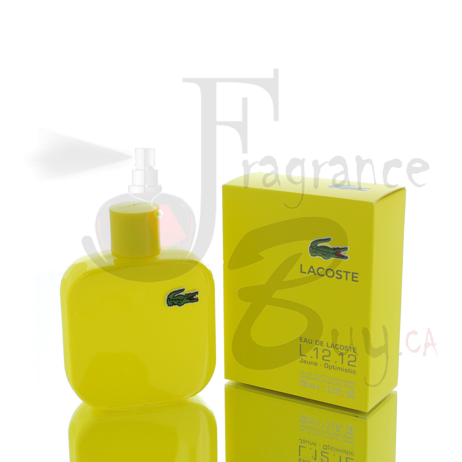 Lacoste Jaune (Yellow) Optimistic For Man