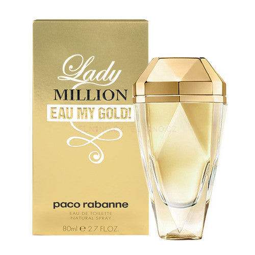 Eau My Gold Lady Million by Paco Rabanne For Woman