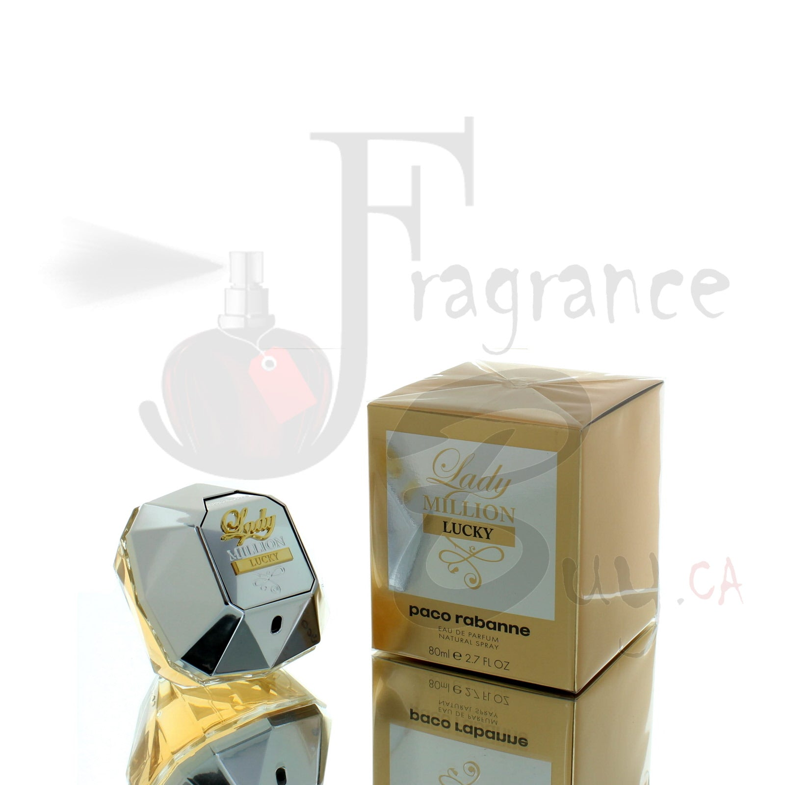 Paco Rabanne Lady Million Lucky Edition For Woman