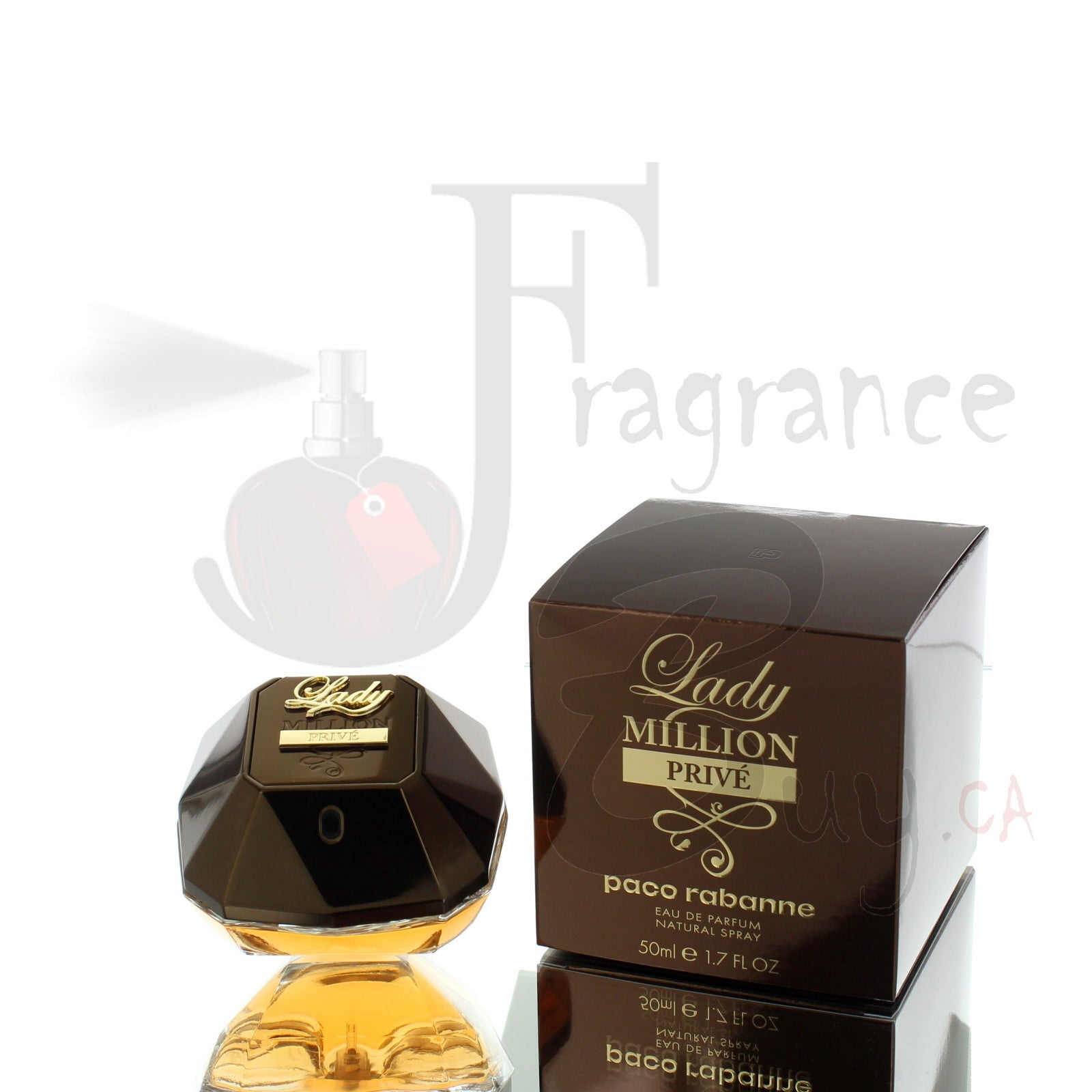 Lady Million Prive by Paco Rabanne For Woman