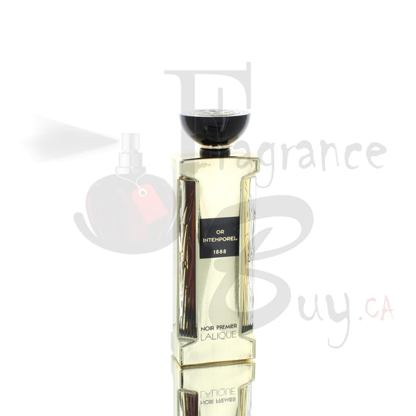 Lalique Noir Premier Or Intemporel Private Collection For Man