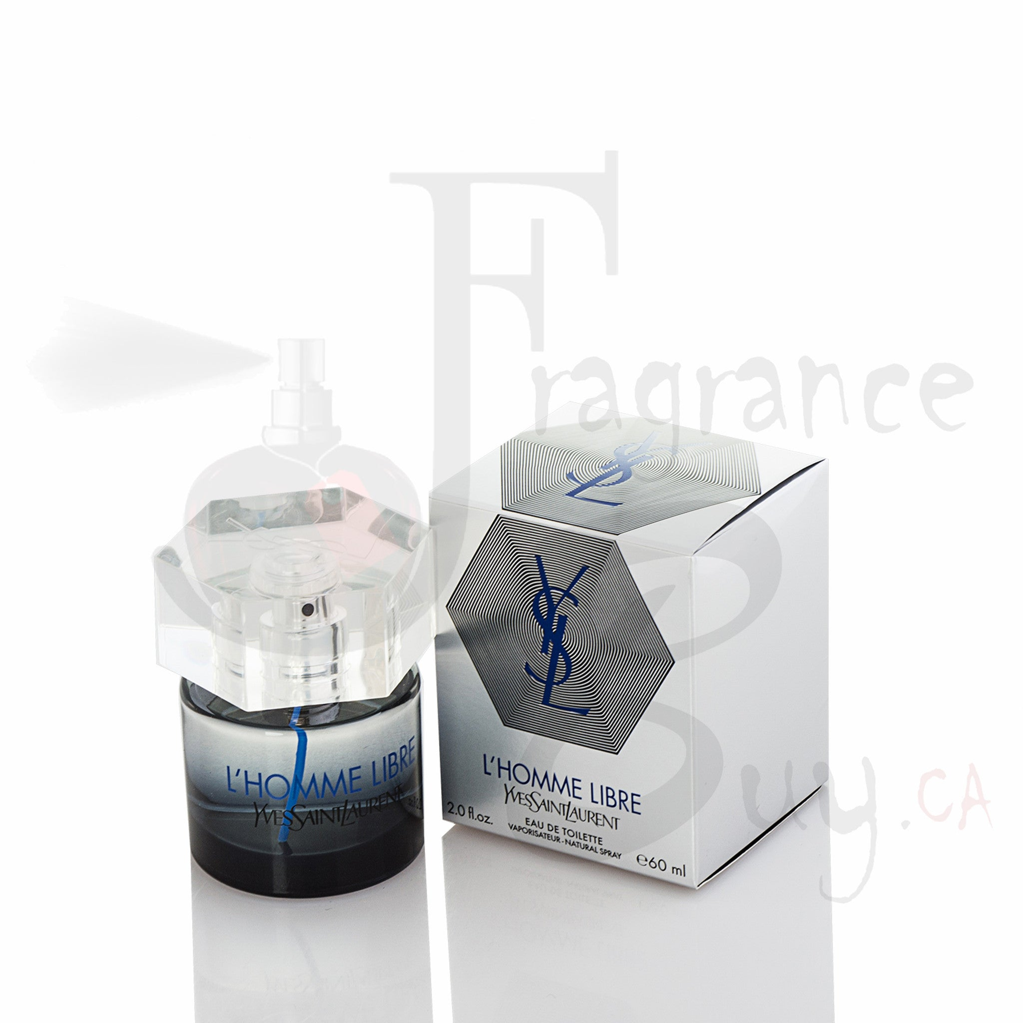 YvesSaintLaurent YSL L'homme Libre (Silver) For Man