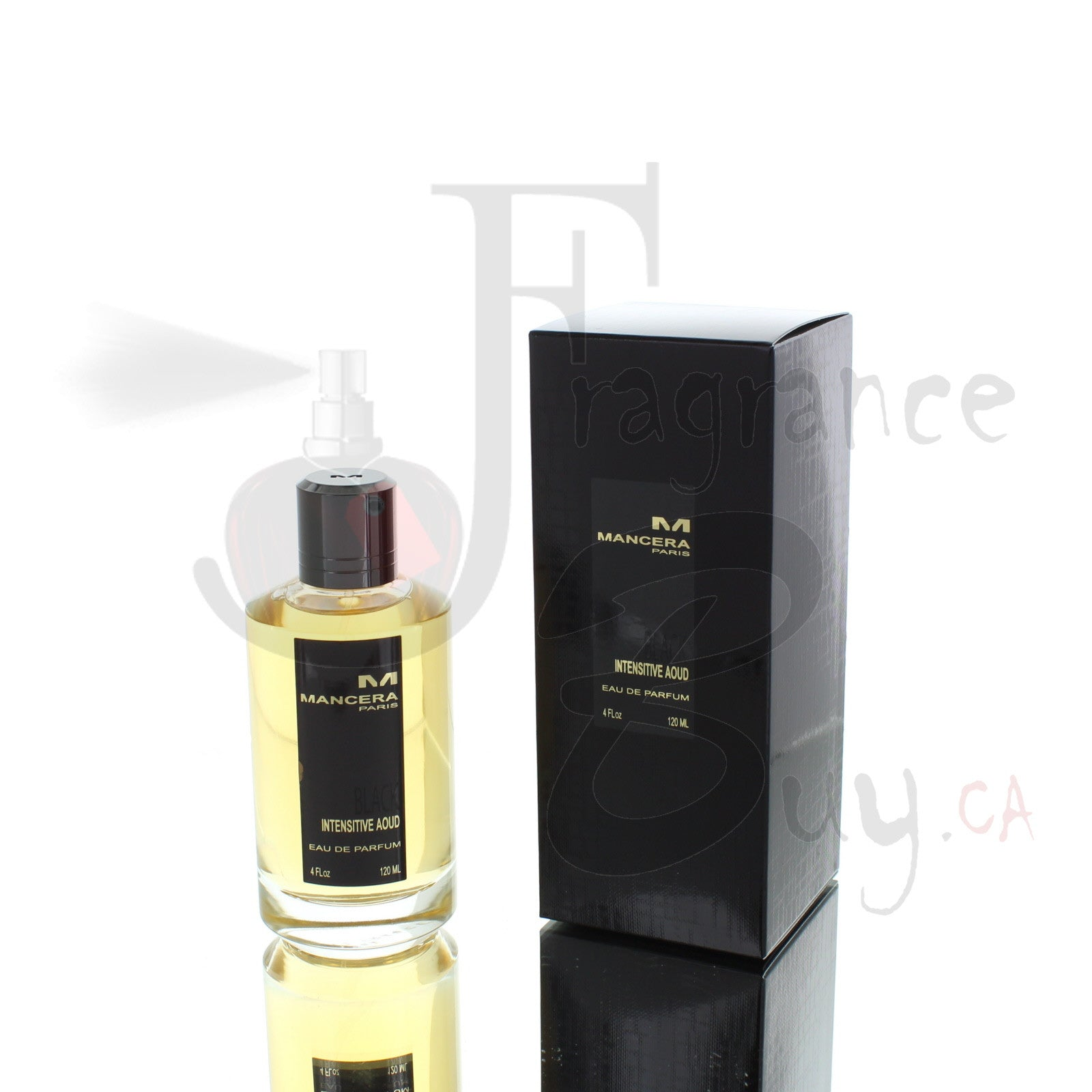 Mancera Black Intensitive Aoud For Man/Woman