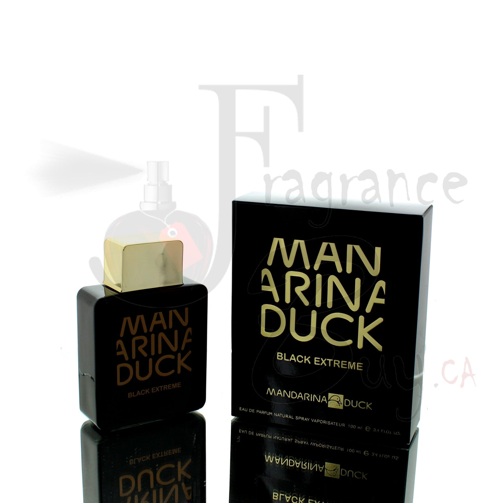 Mandarina Duck Black Extreme For Man