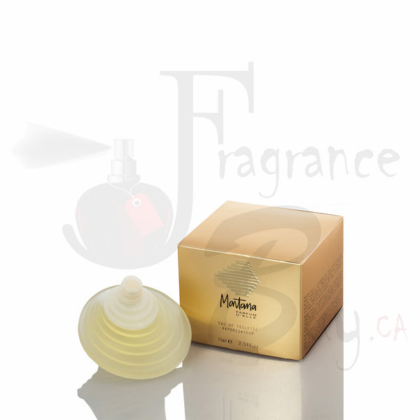 Montana Parfum D'elle (Gold) For Woman