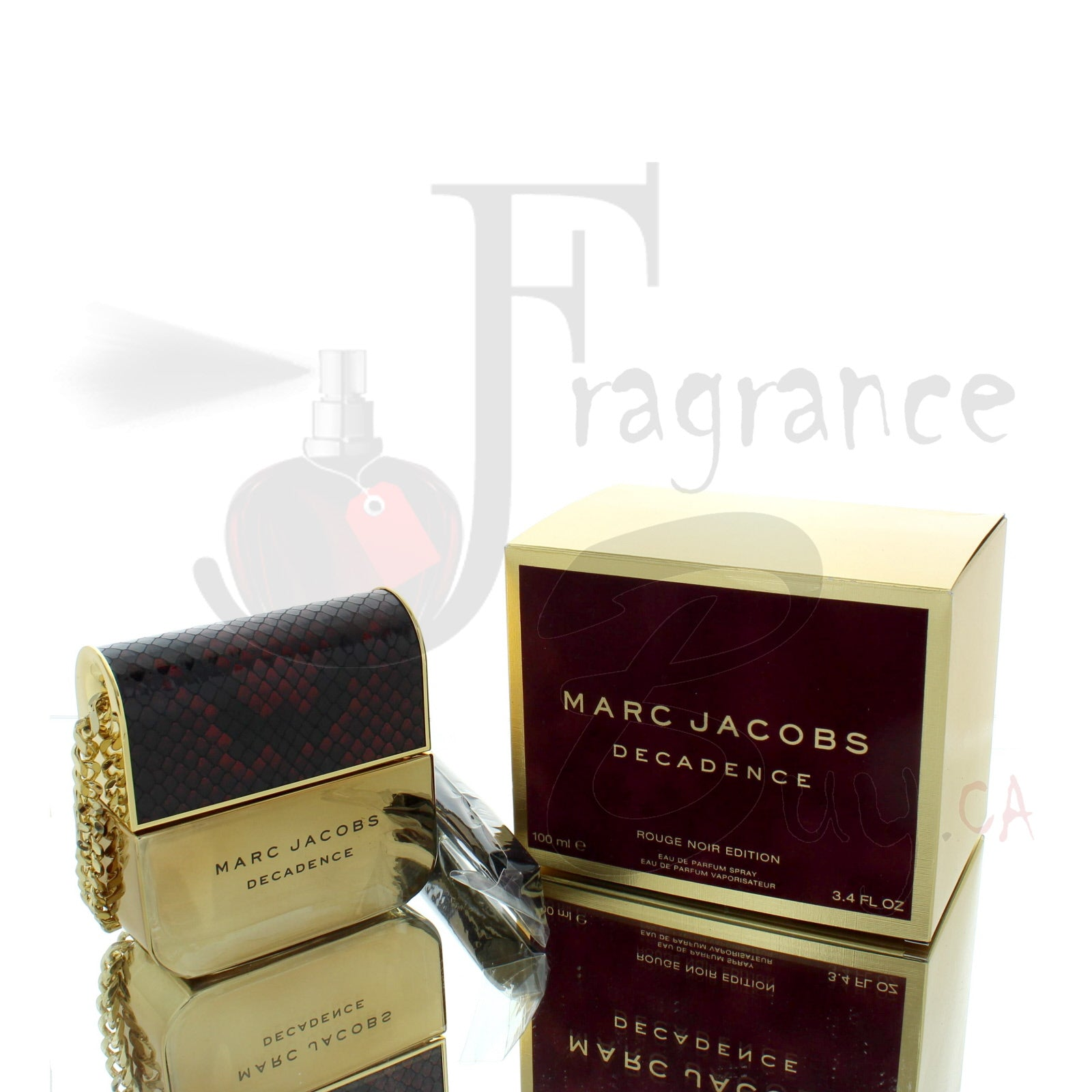 Marc Jacobs Decadence Rouge Noir Edition For Woman