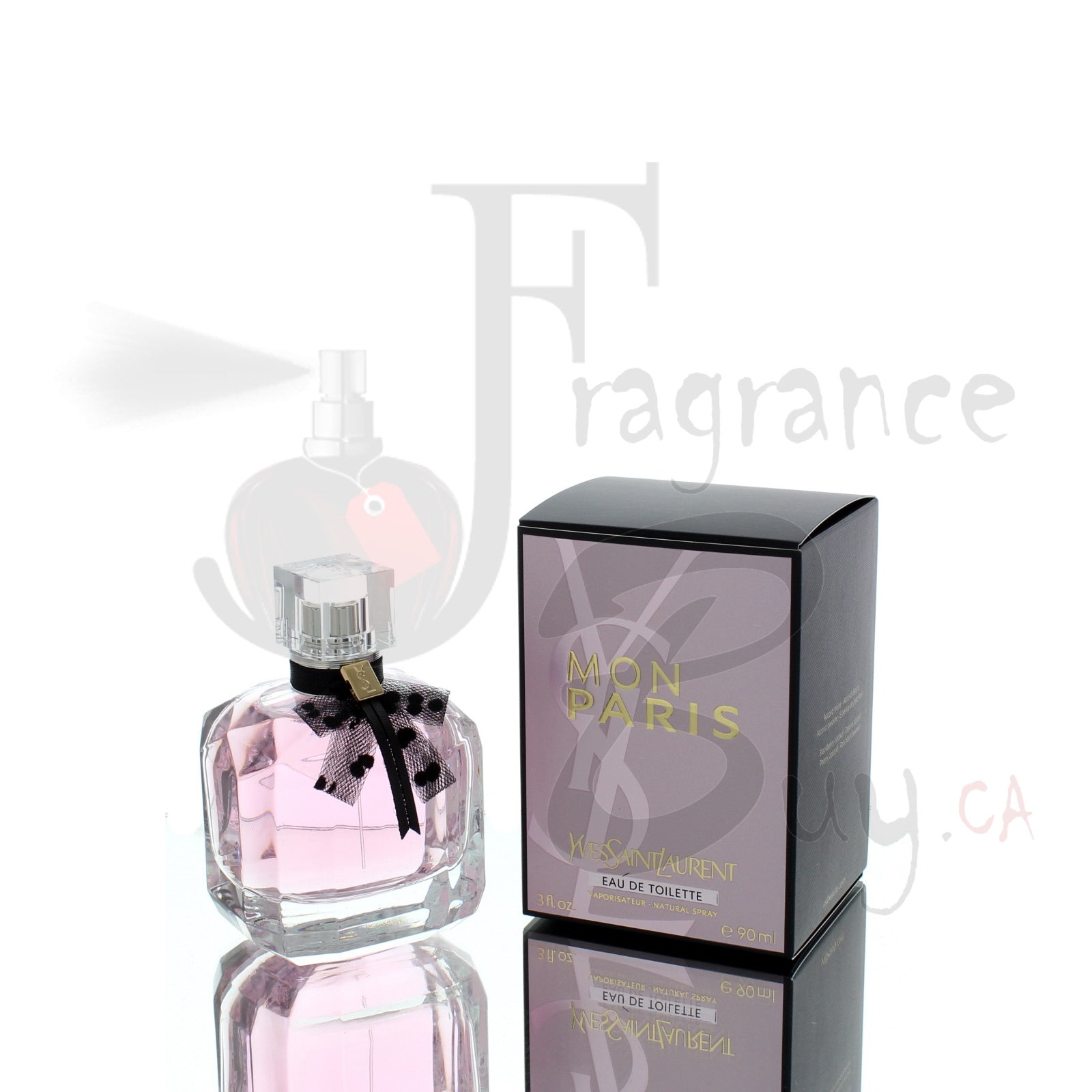 YvesSaintLaurent YSL Mon Paris EDT EDITION For Woman