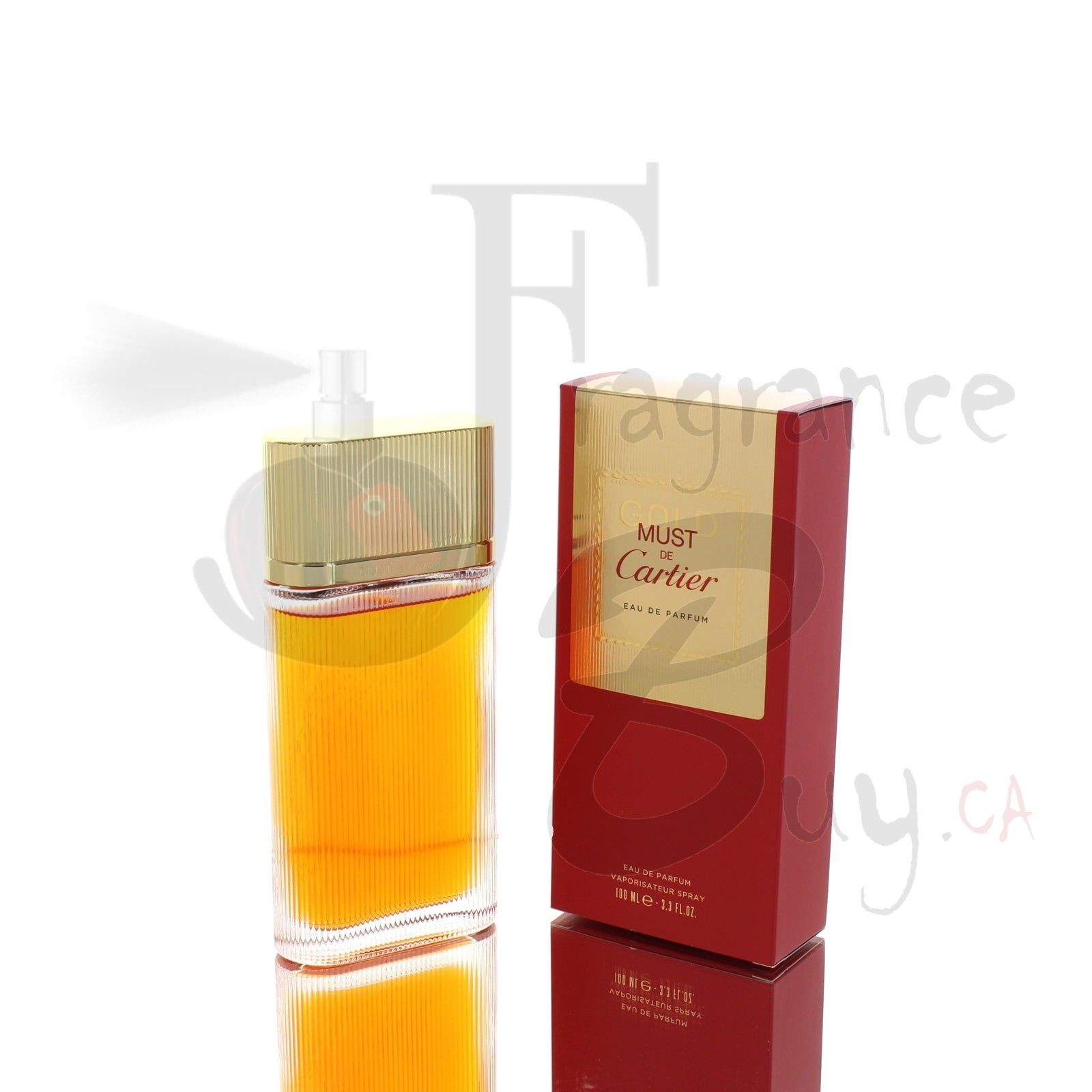 Cartier Must De Cartier Eau De Parfum Gold For Woman
