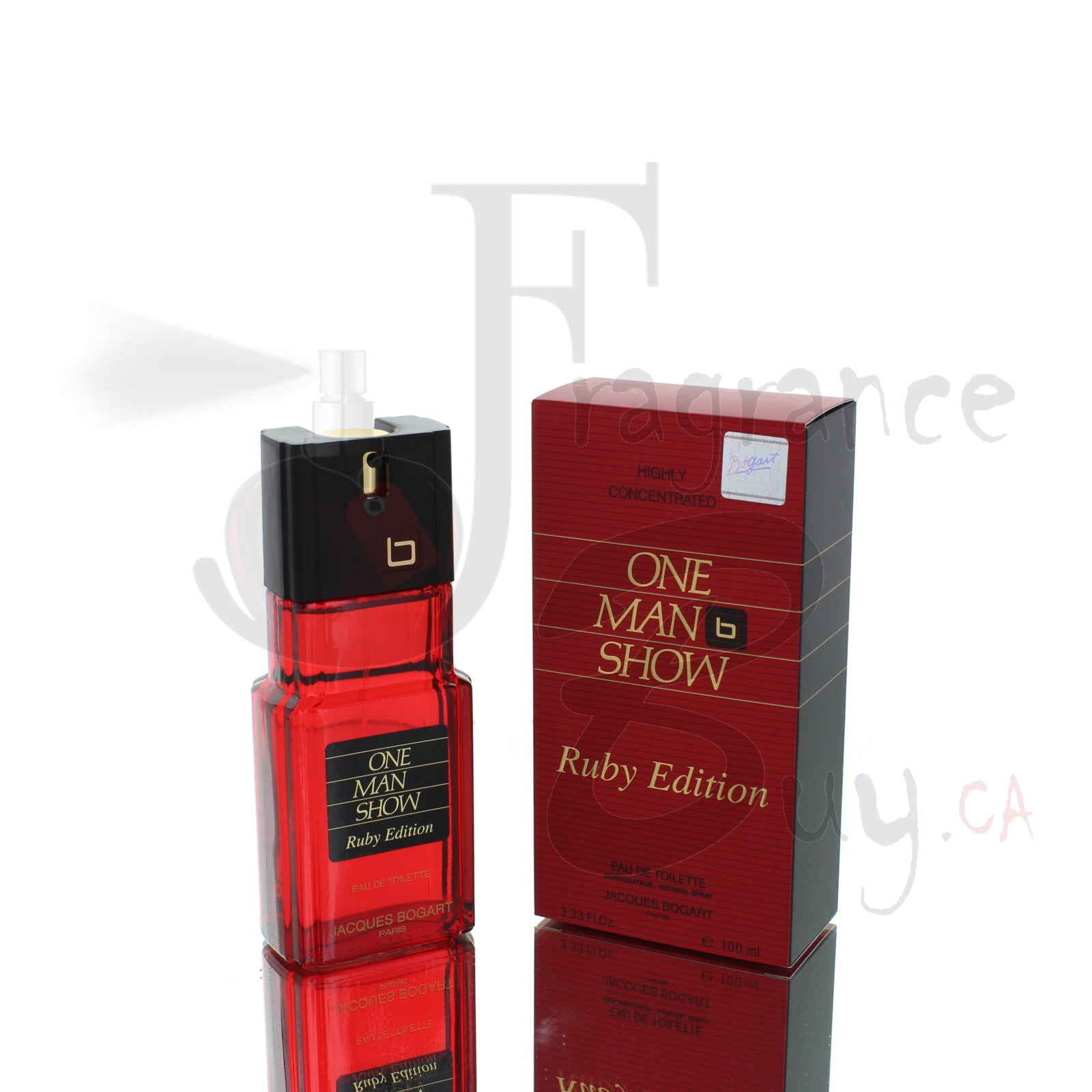 One Man Show Ruby Edition by Jacques Bogart Classic For Man