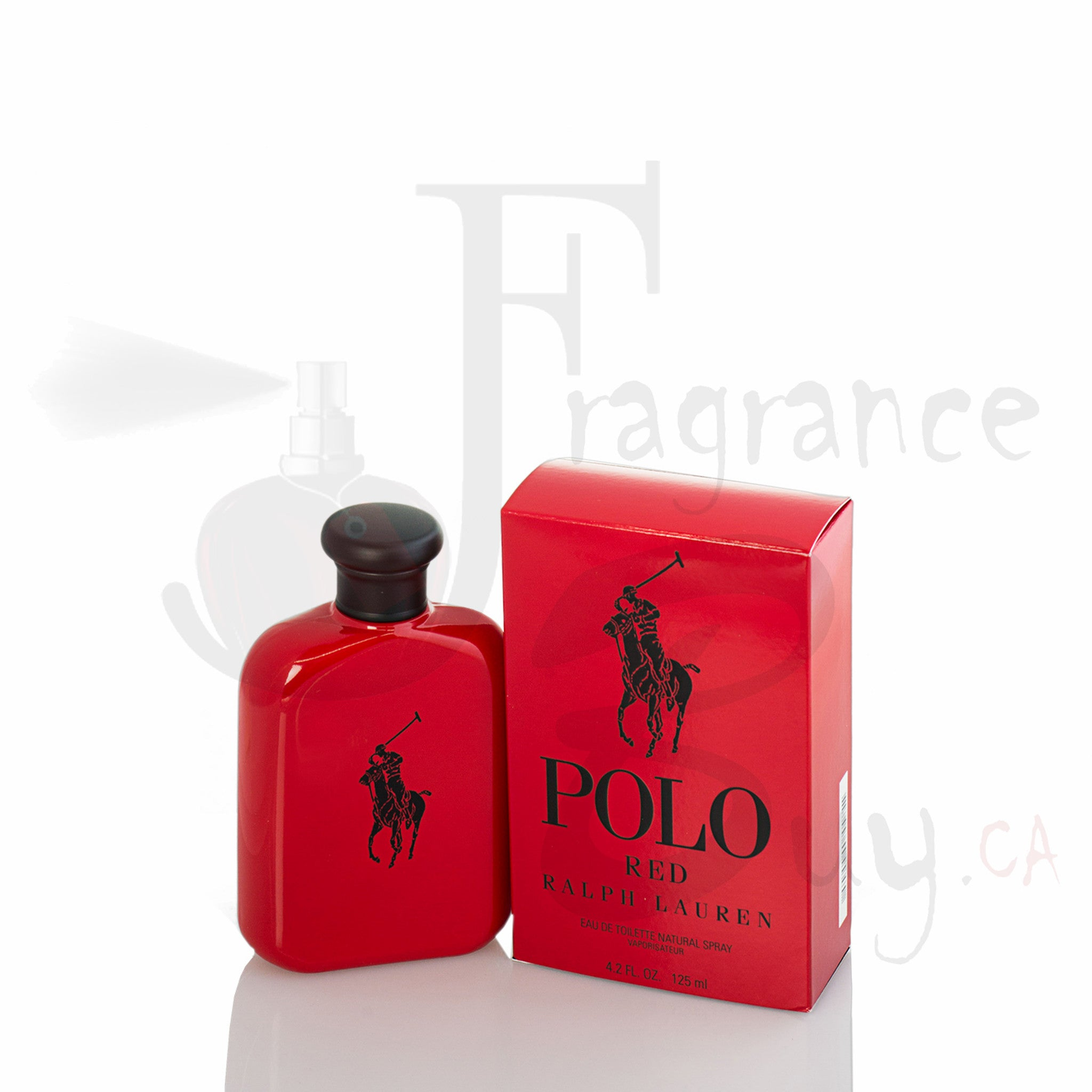 Ralph Lauren Polo Red For Man