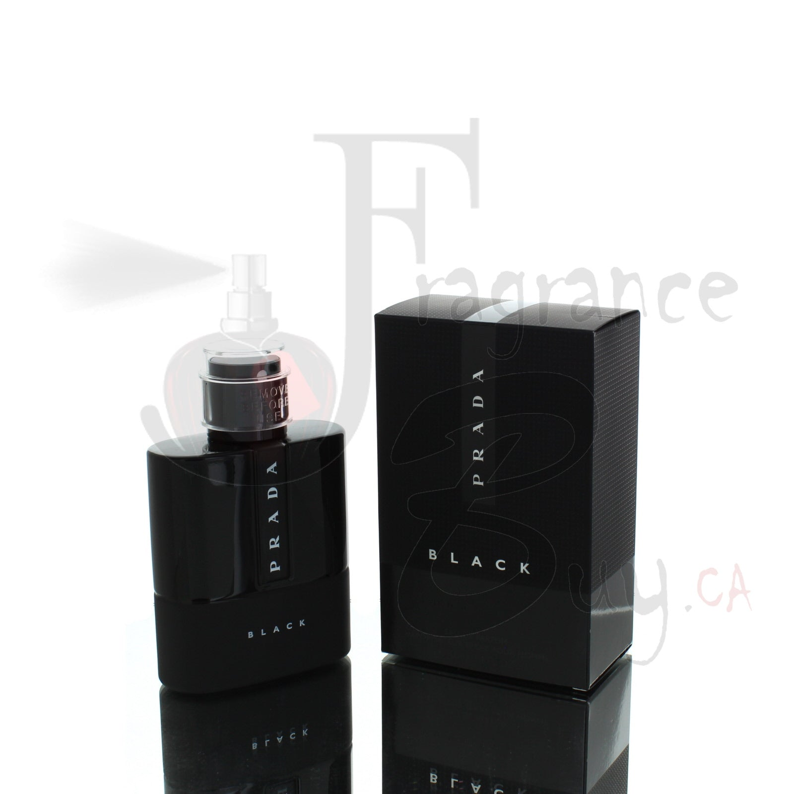 Prada Luna Rossa Black For Man