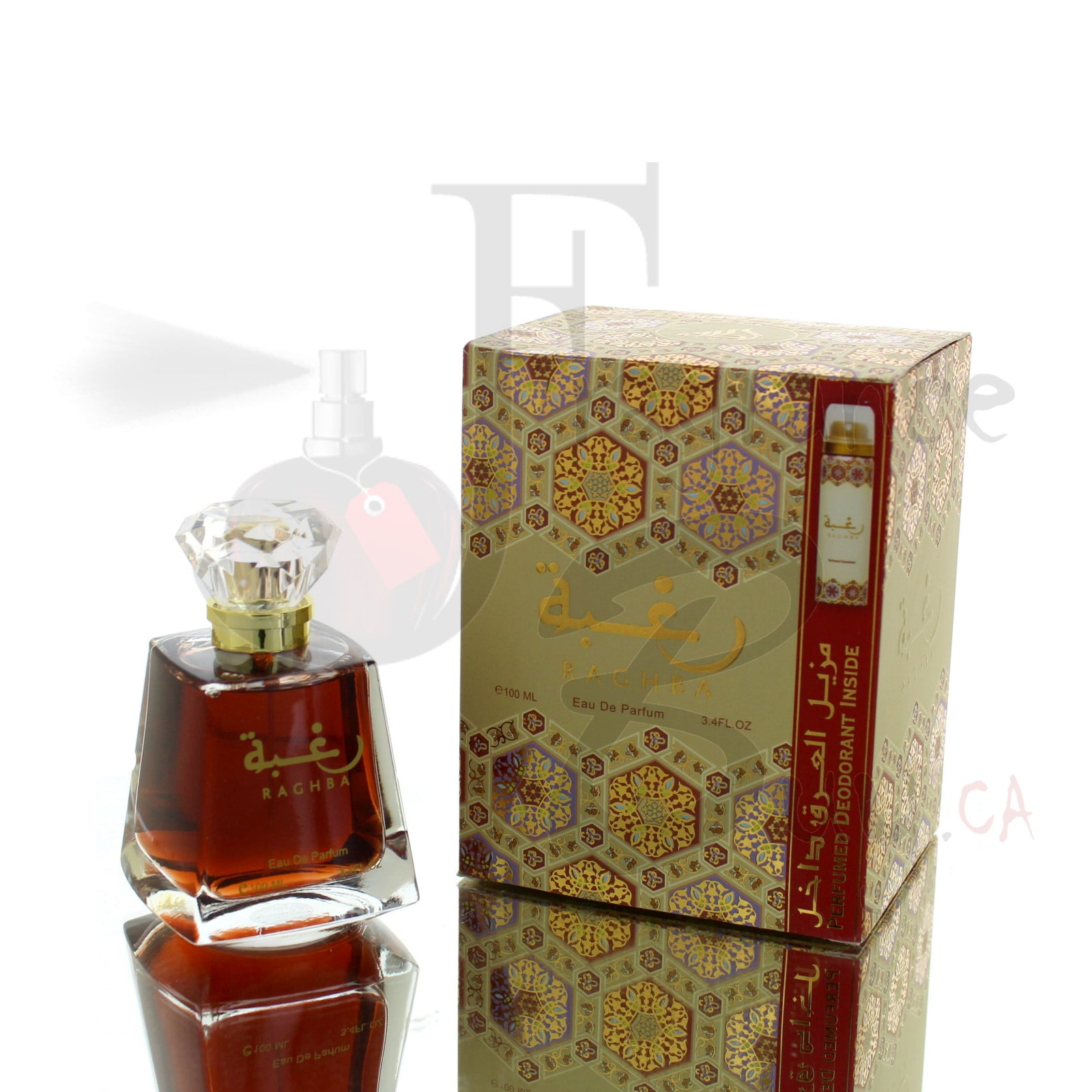 Lattafa Raghba Original Fragrance (As Pictured) For Man/Woman
