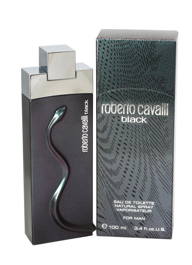 Roberto Cavalli Black For Man
