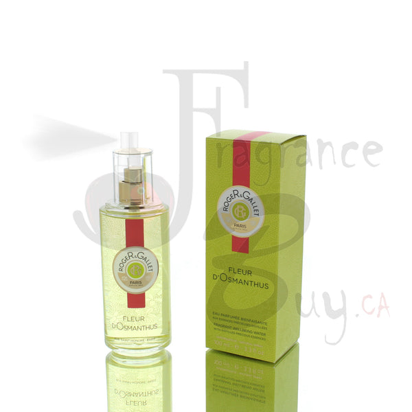 Roger Gallet Fleur D'Osmanthus Fragrant Well Being Water For Man/Woman