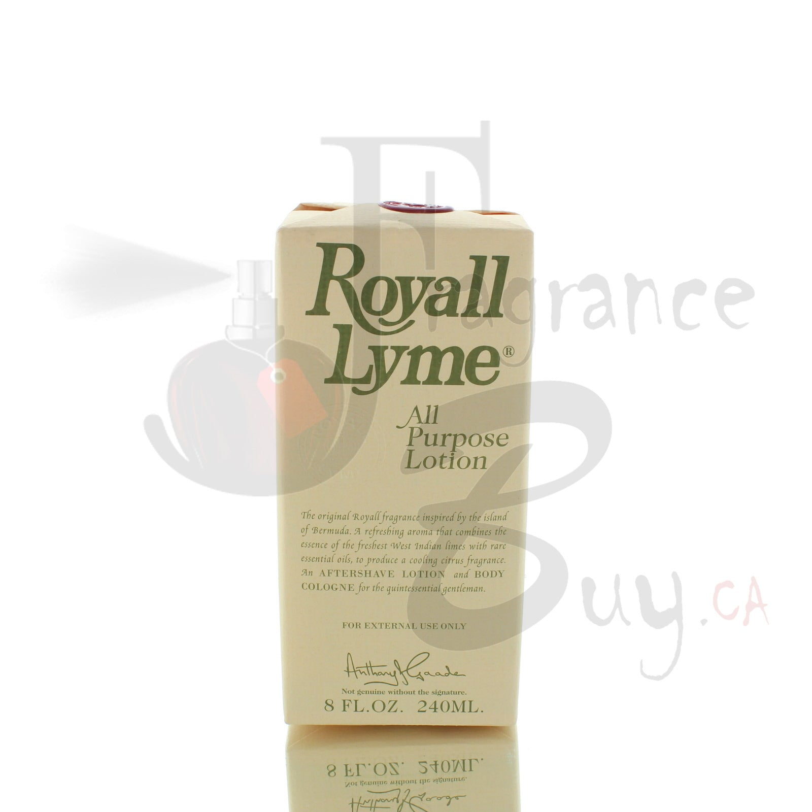 Royall Lyme Aftershave Lotion Cologne For Man