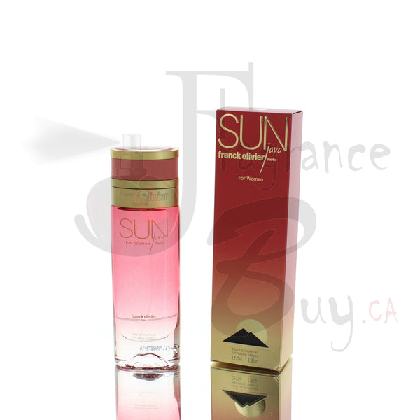 Franck Olivier Sun Java For Woman