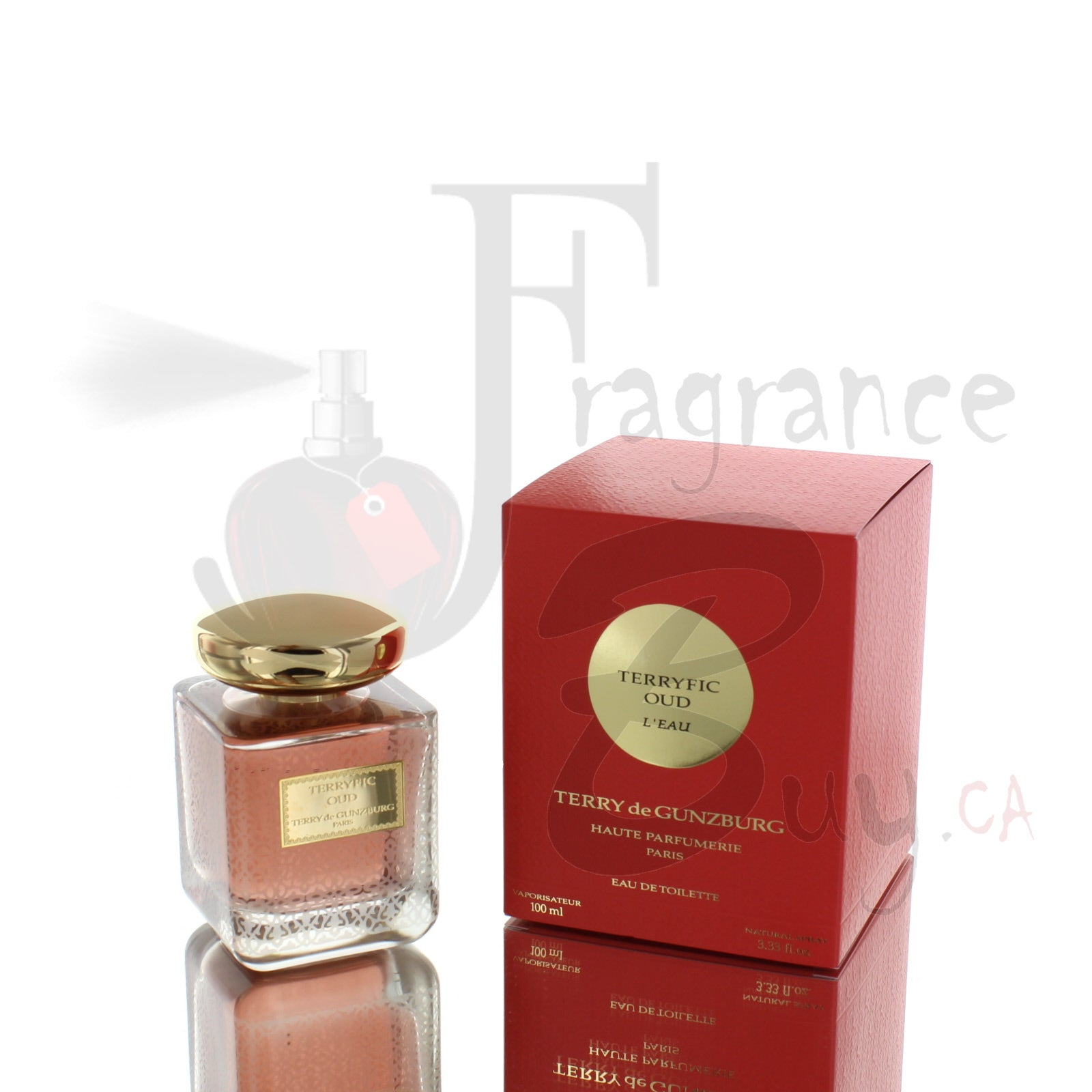 Terry de Gunzburg Terryfic Oud L'eau For Man/Woman