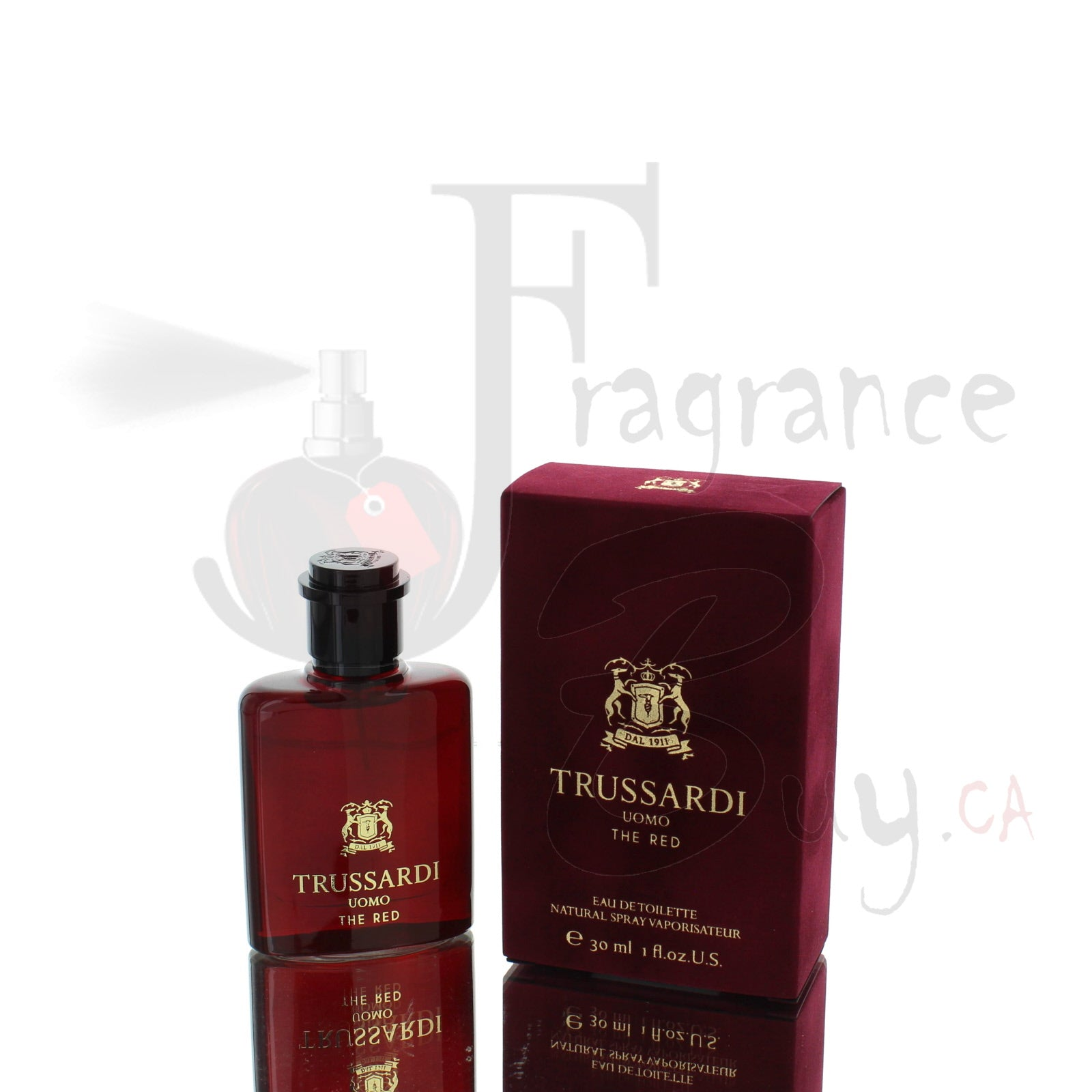 Trussardi Uomo The Red For Man